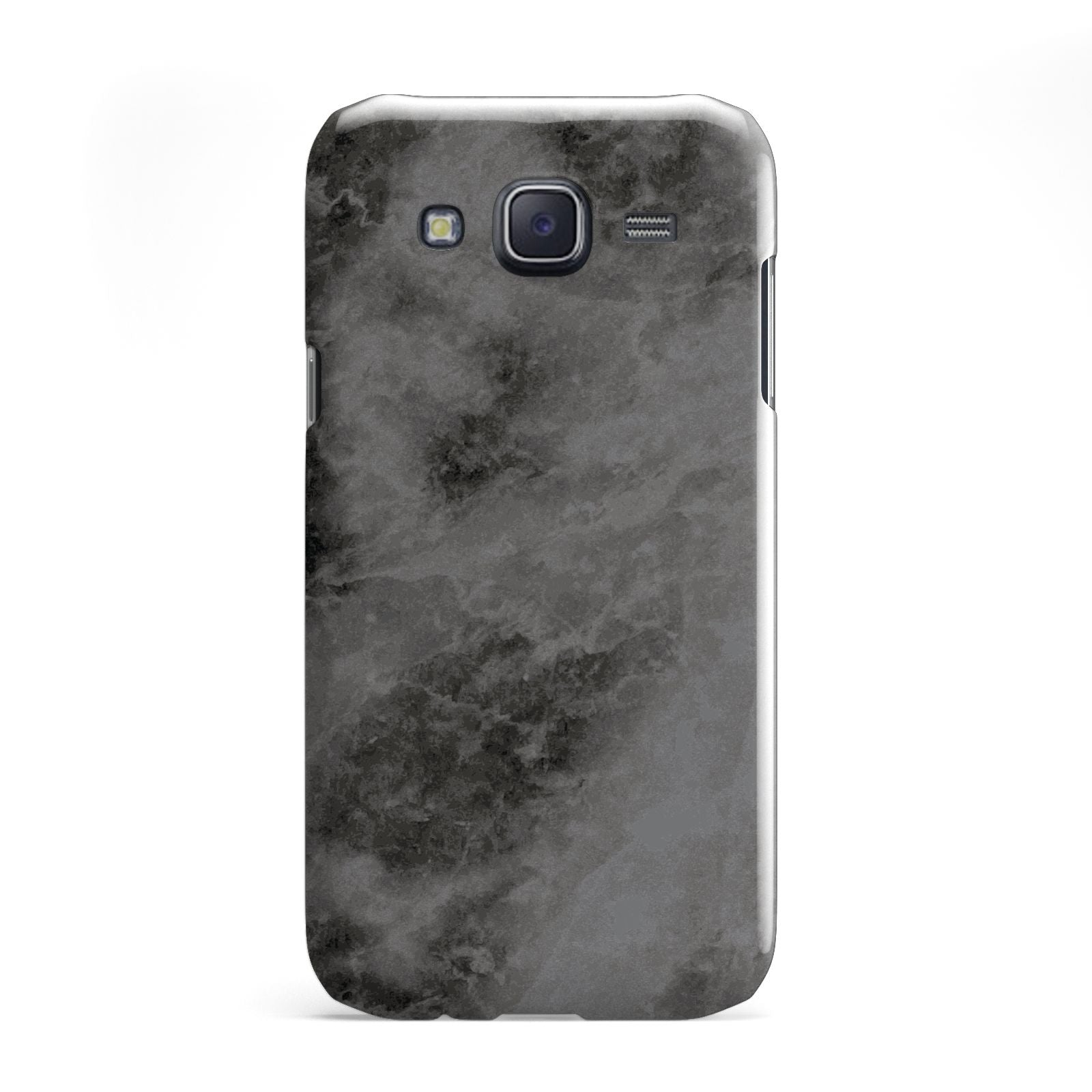 Faux Marble Grey Black Samsung Galaxy J5 Case