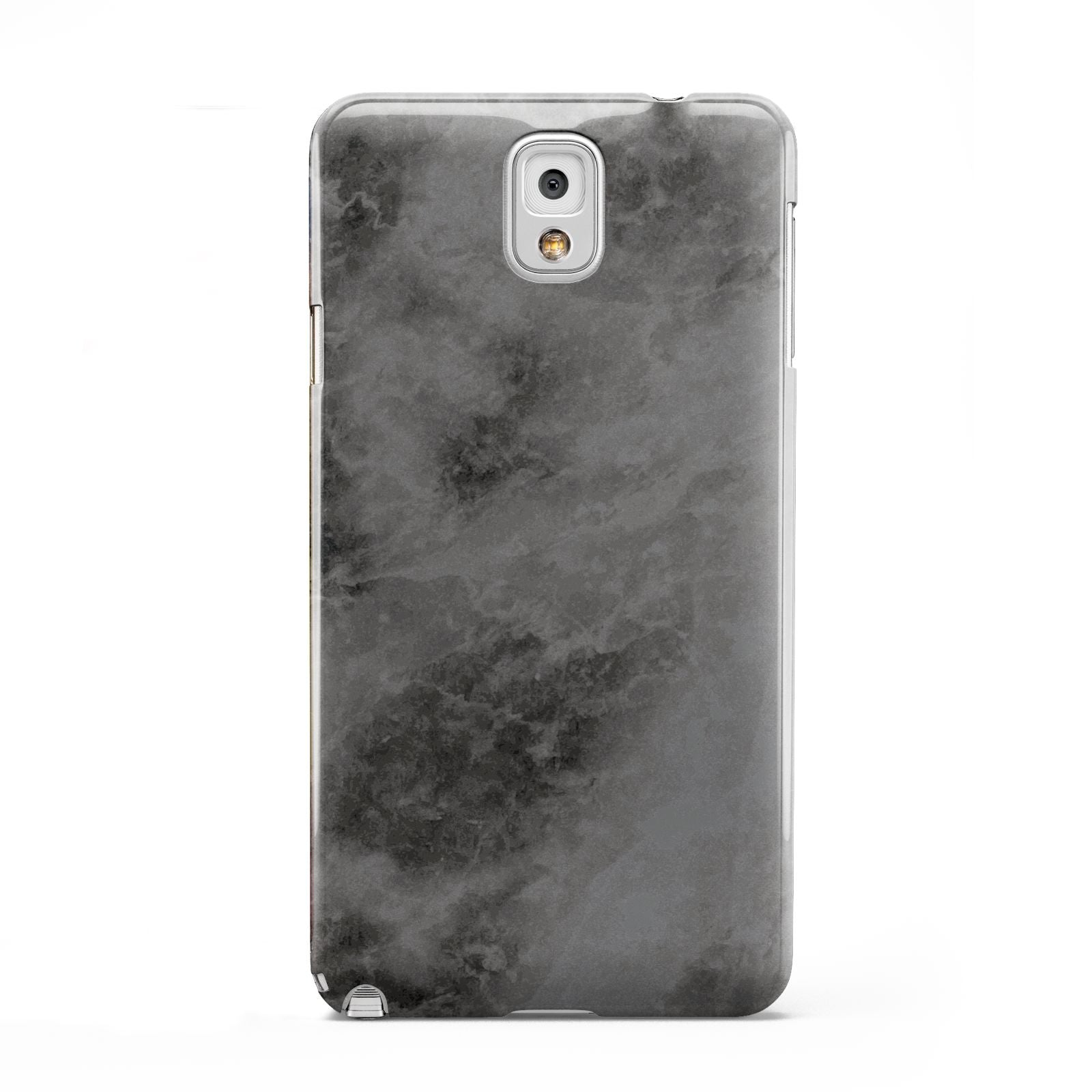 Faux Marble Grey Black Samsung Galaxy Note 3 Case
