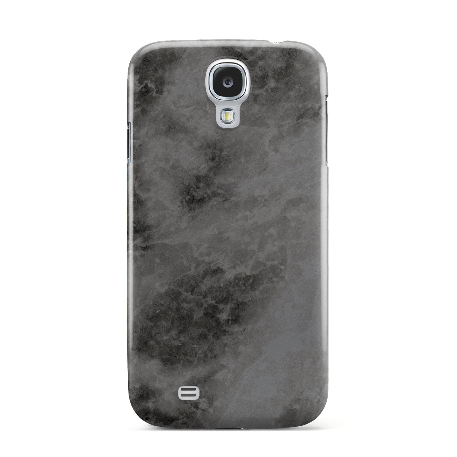 Faux Marble Grey Black Samsung Galaxy S4 Case