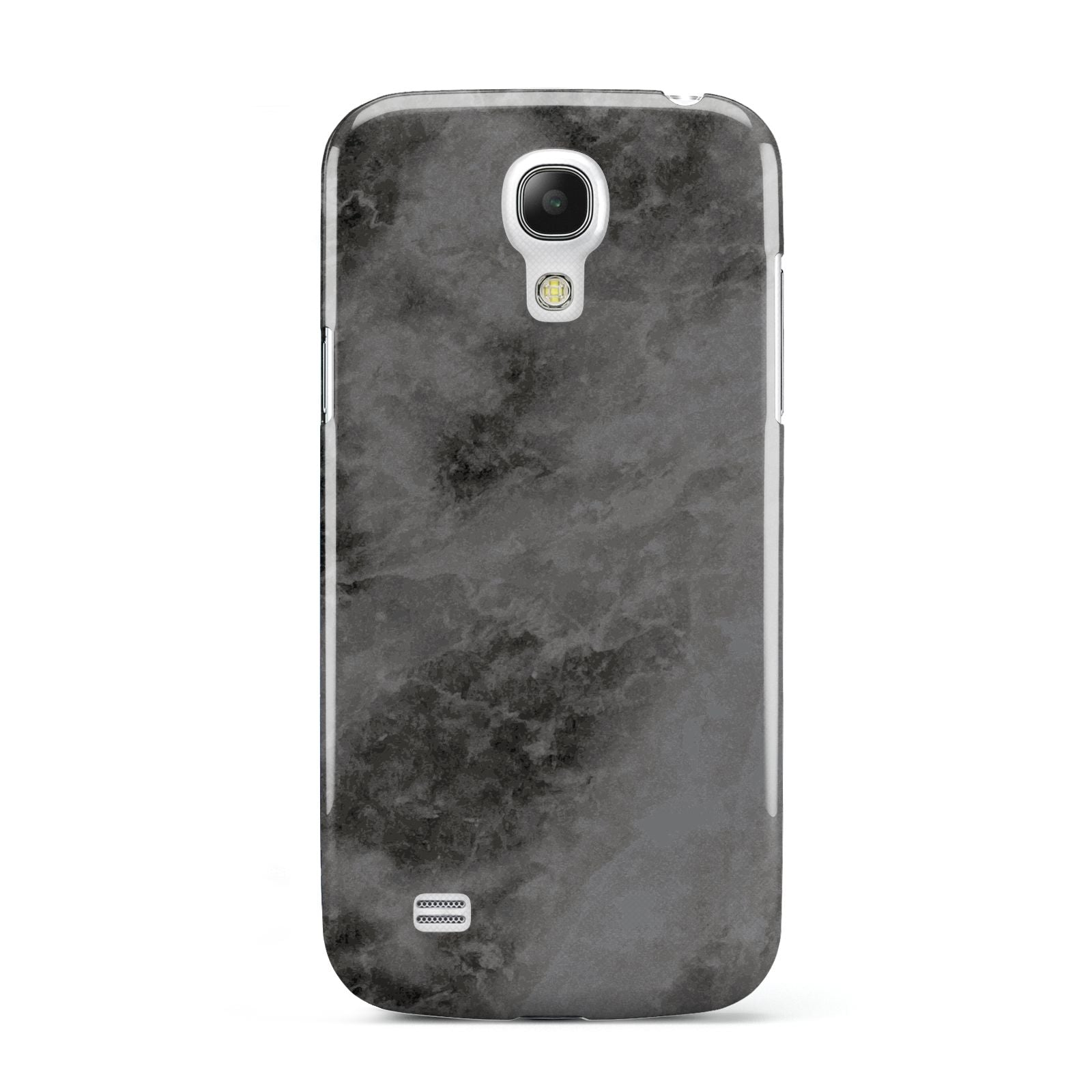 Faux Marble Grey Black Samsung Galaxy S4 Mini Case