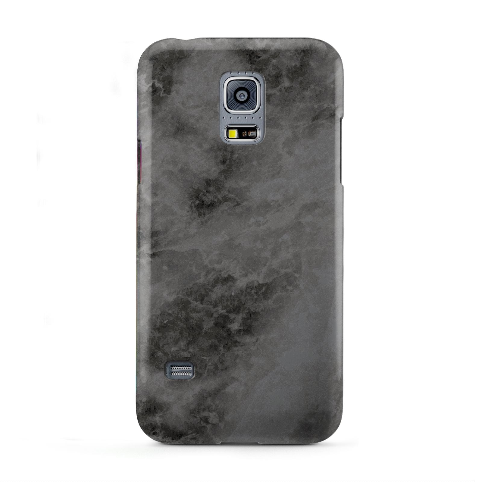 Faux Marble Grey Black Samsung Galaxy S5 Mini Case