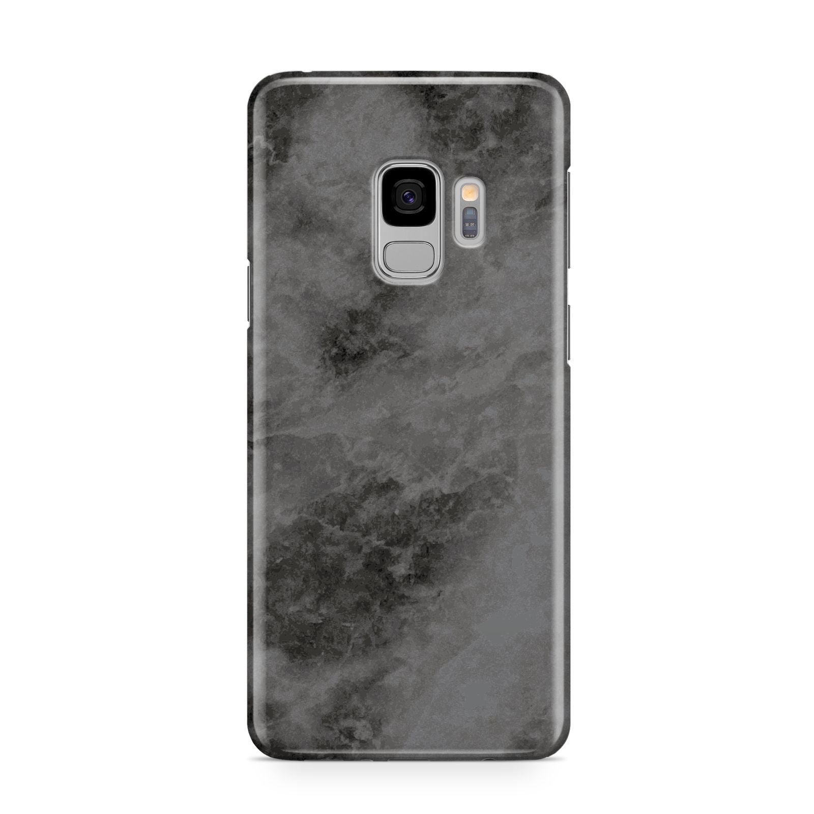 Faux Marble Grey Black Samsung Galaxy S9 Case