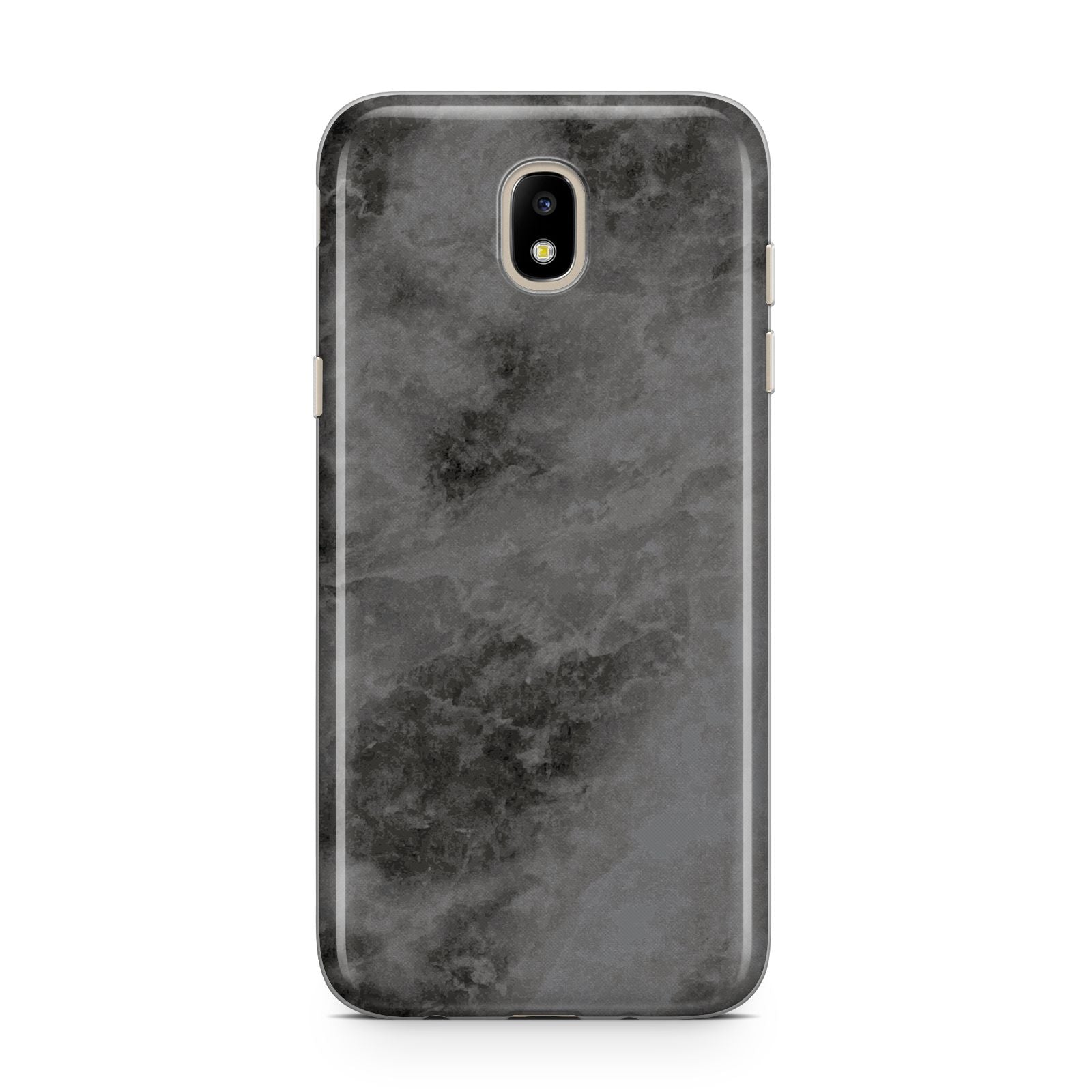 Faux Marble Grey Black Samsung J5 2017 Case