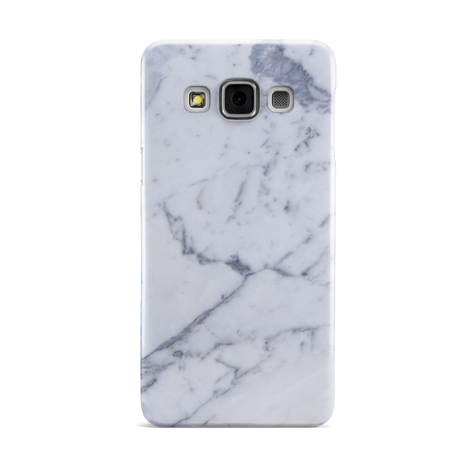 Faux Marble Grey White Samsung Galaxy A3 Case
