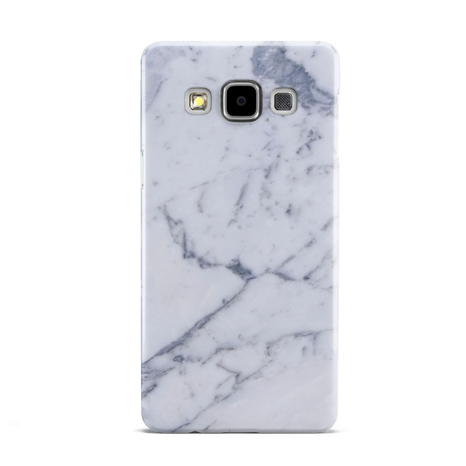 Faux Marble Grey White Samsung Galaxy A5 Case