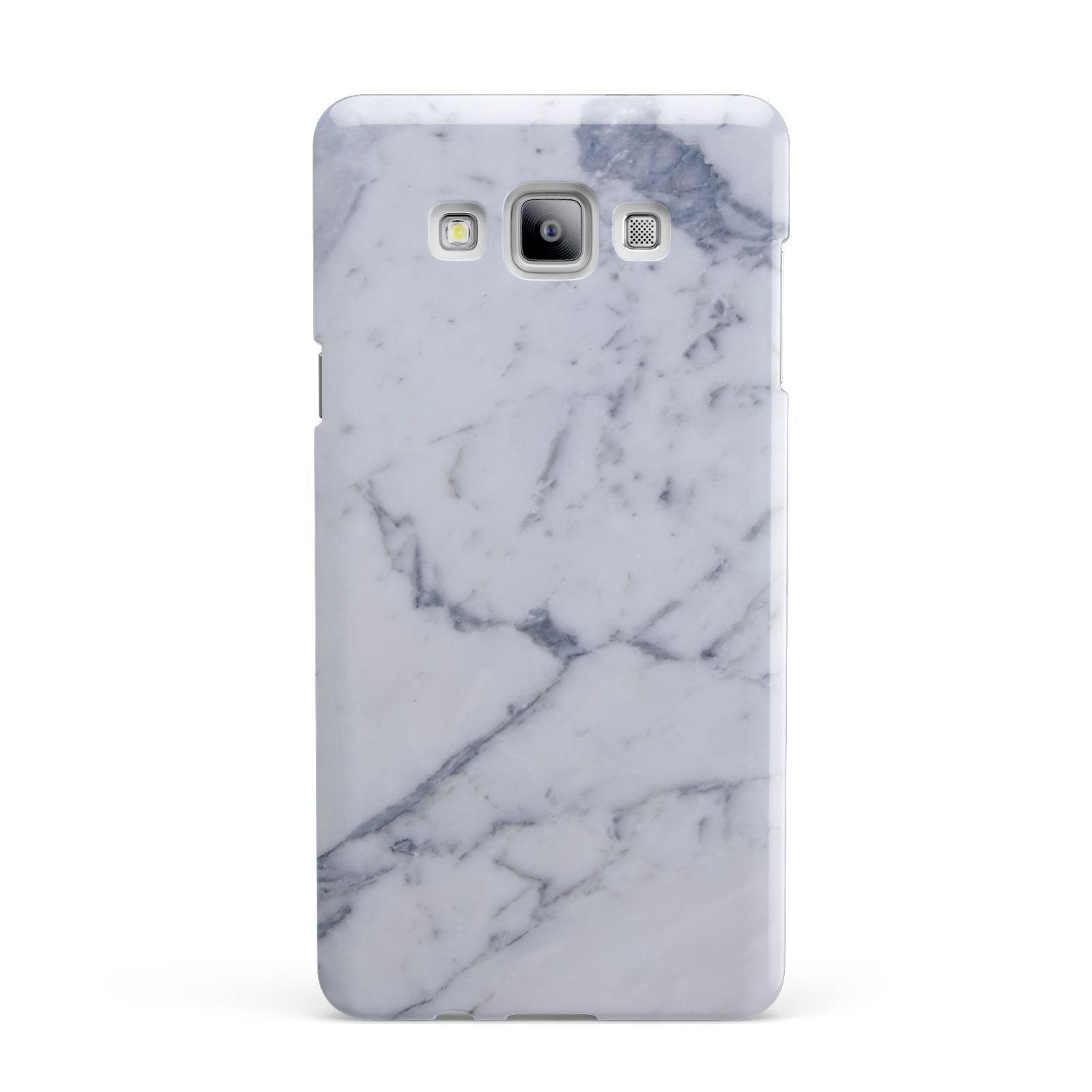 Faux Marble Grey White Samsung Galaxy A7 2015 Case