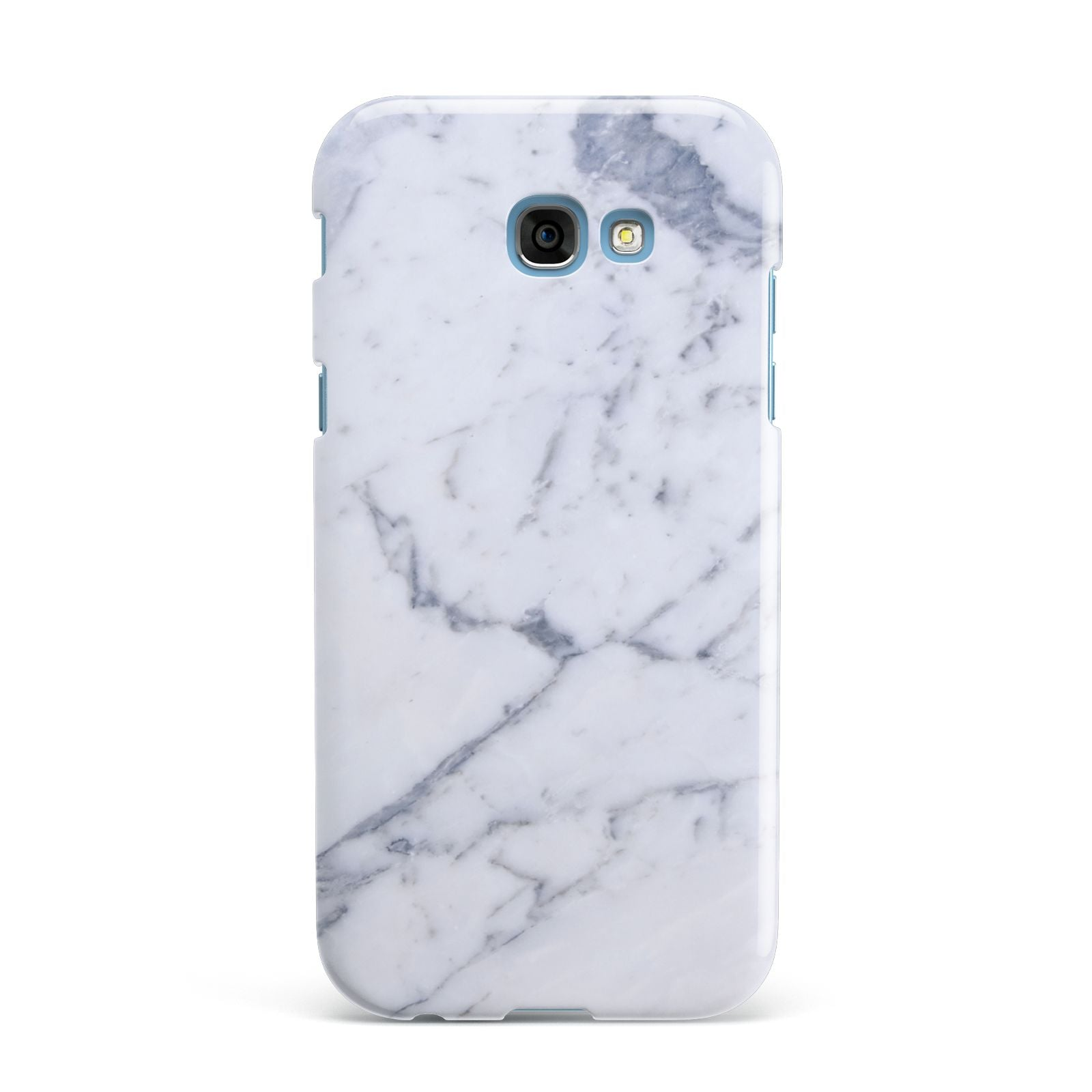 Faux Marble Grey White Samsung Galaxy A7 2017 Case