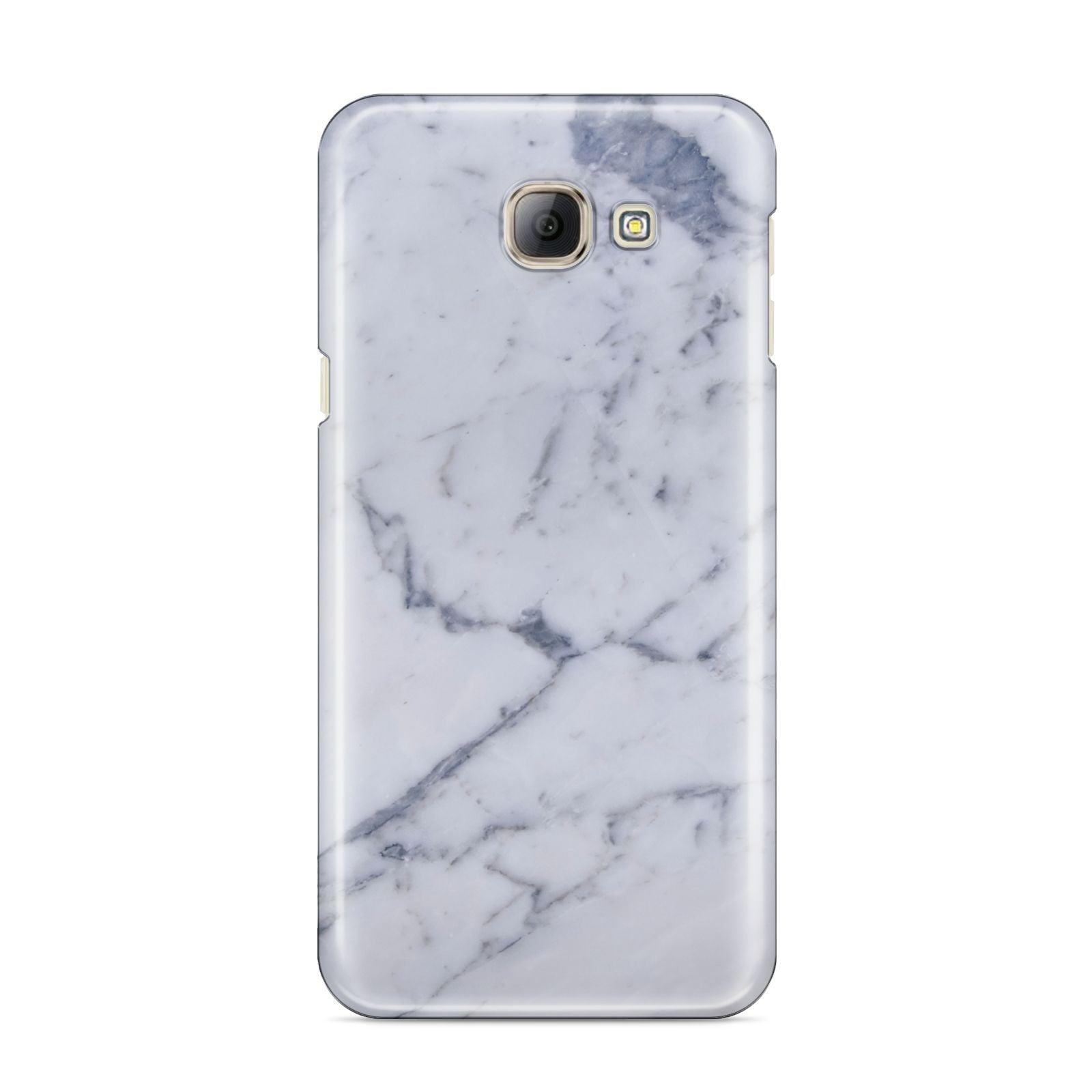 Faux Marble Grey White Samsung Galaxy A8 2016 Case