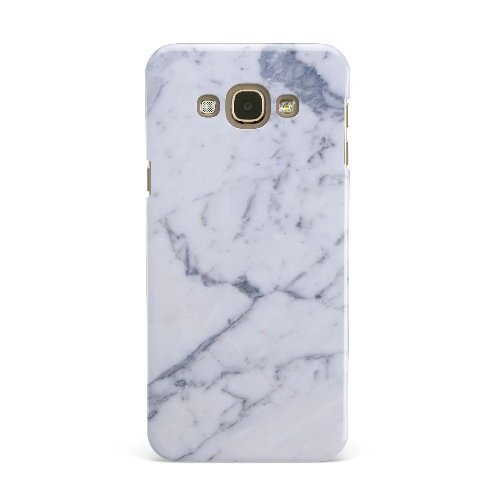 Faux Marble Grey White Samsung Galaxy A8 Case