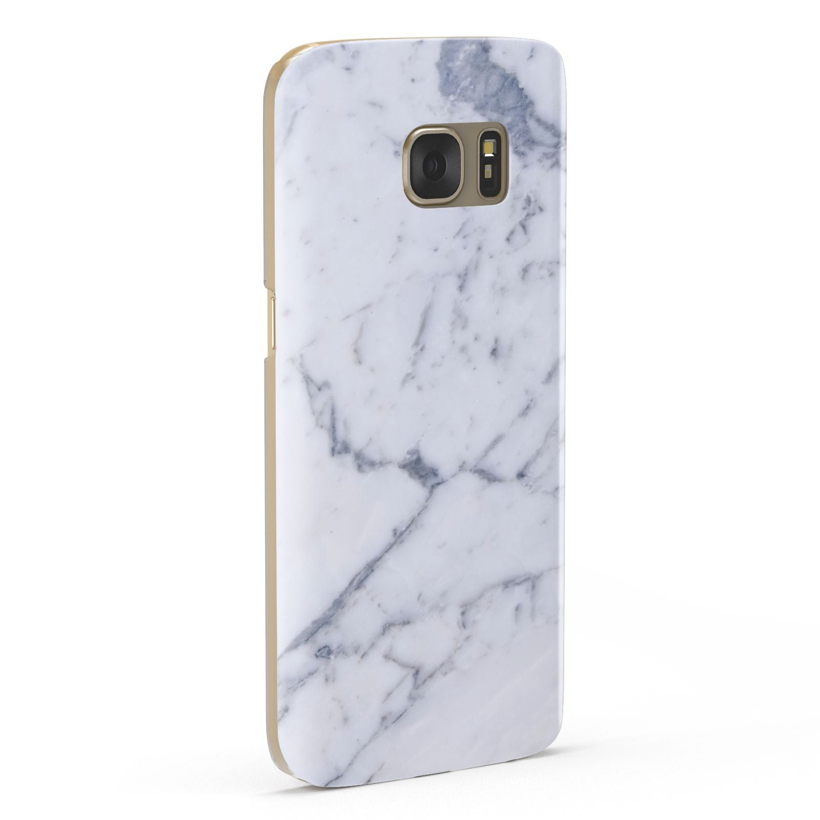 Faux Marble Grey White Samsung Galaxy Case Fourty Five Degrees