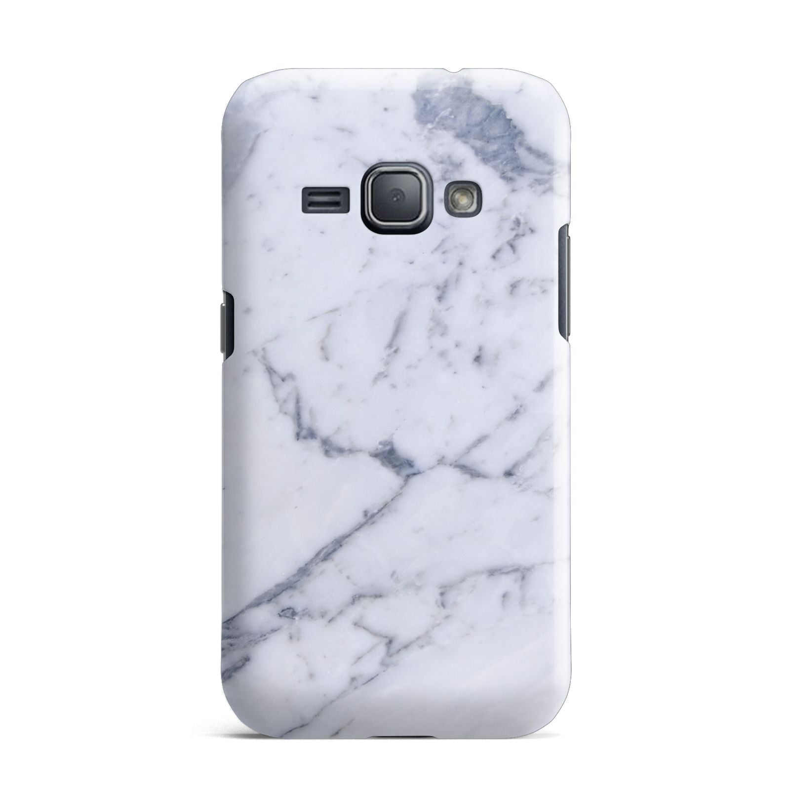 Faux Marble Grey White Samsung Galaxy J1 2016 Case