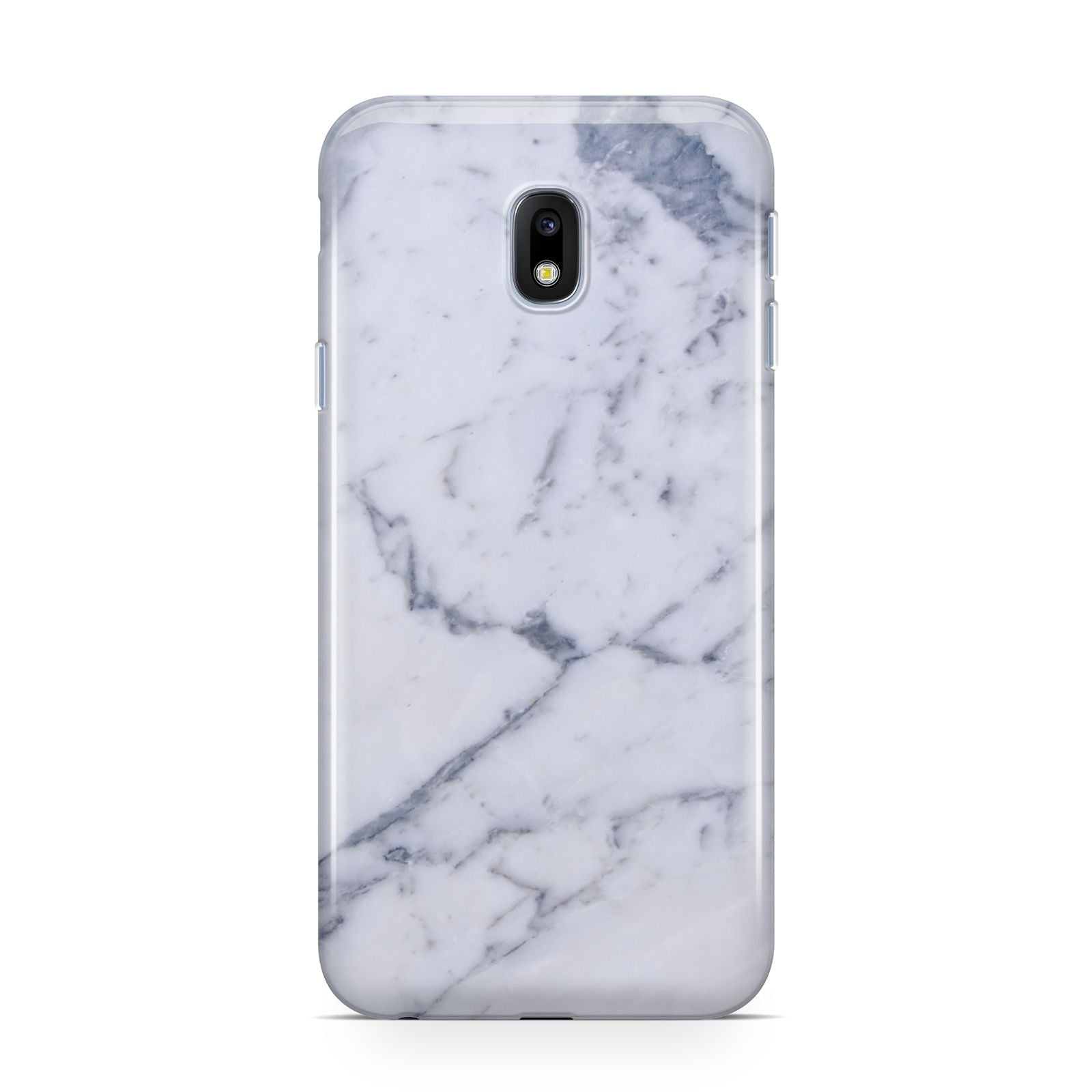 Faux Marble Grey White Samsung Galaxy J3 2017 Case