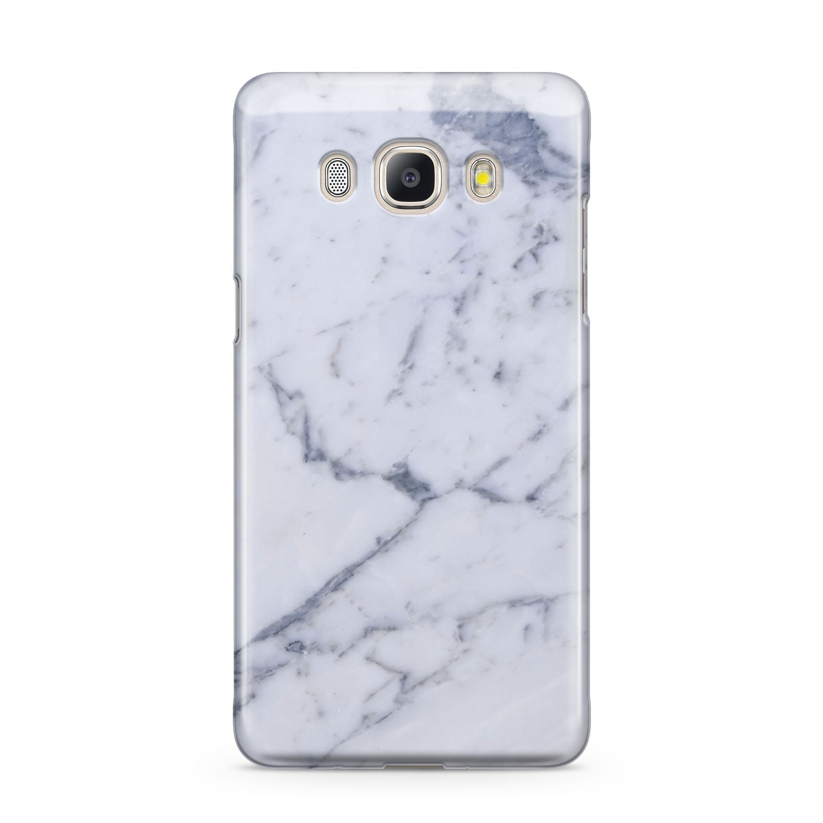 Faux Marble Grey White Samsung Galaxy J5 2016 Case