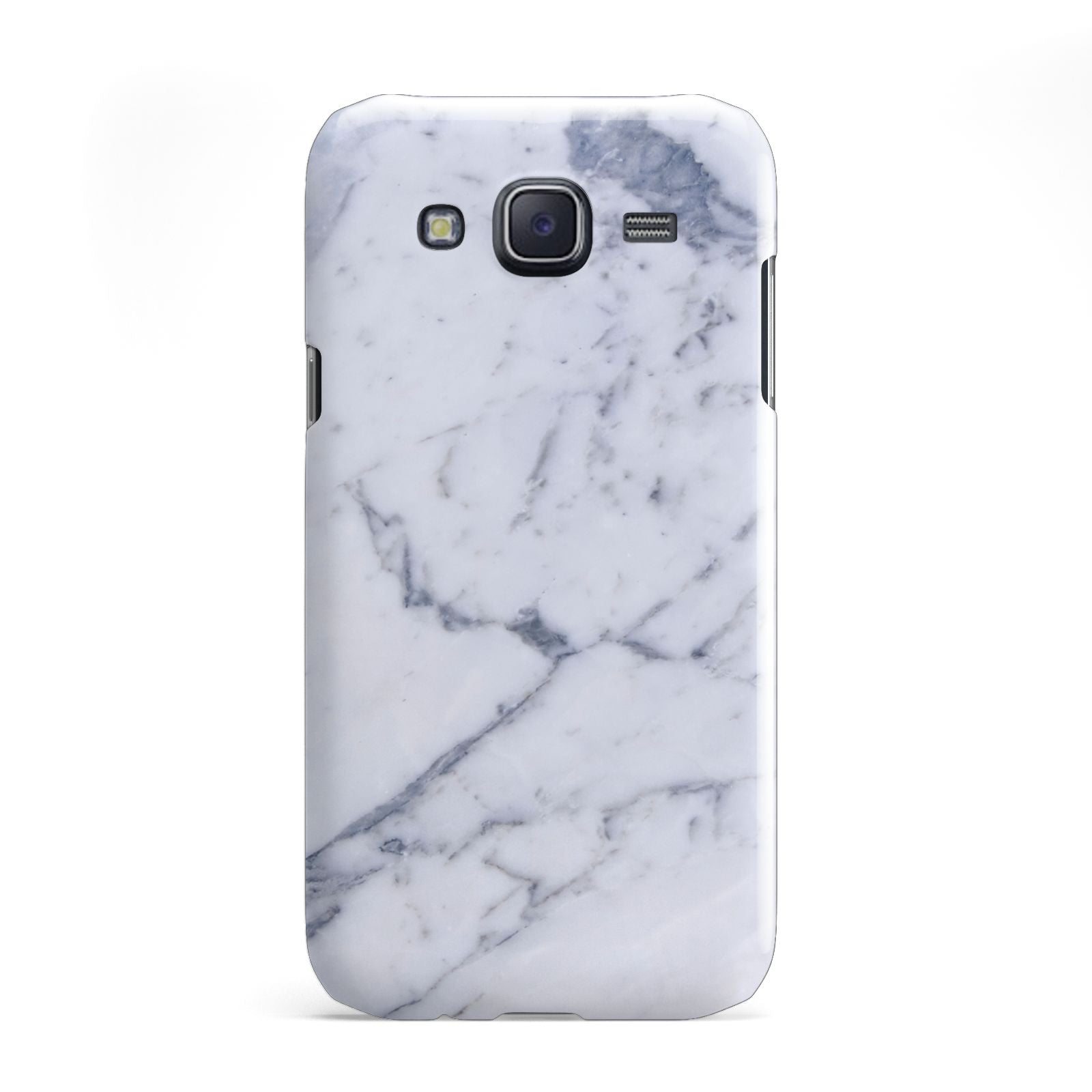 Faux Marble Grey White Samsung Galaxy J5 Case