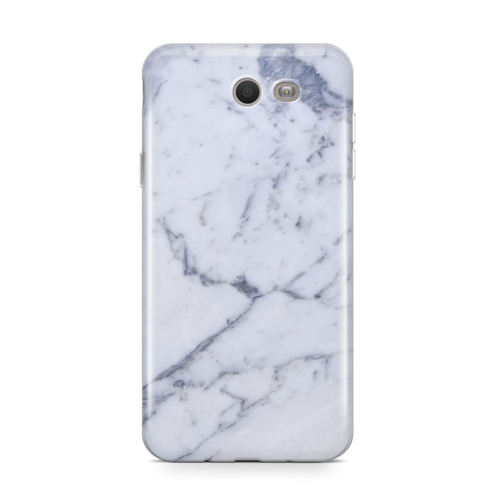 Faux Marble Grey White Samsung Galaxy J7 2017 Case