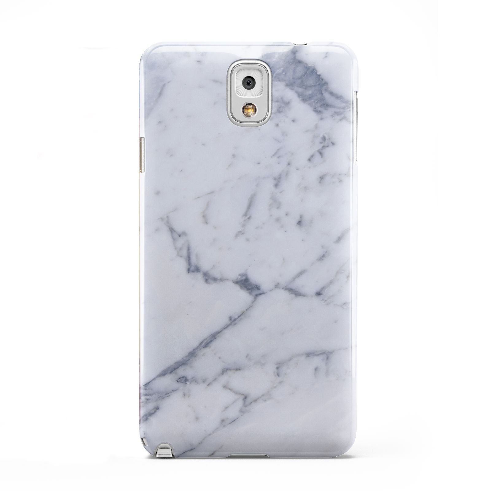 Faux Marble Grey White Samsung Galaxy Note 3 Case