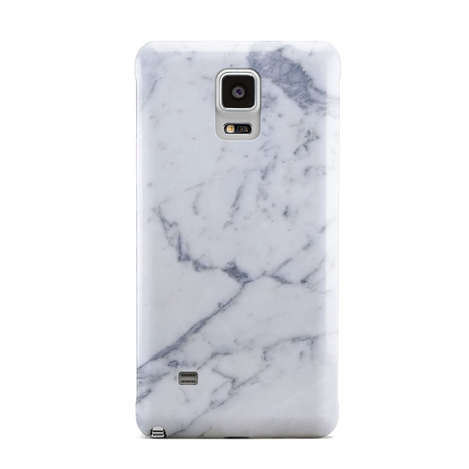 Faux Marble Grey White Samsung Galaxy Note 4 Case