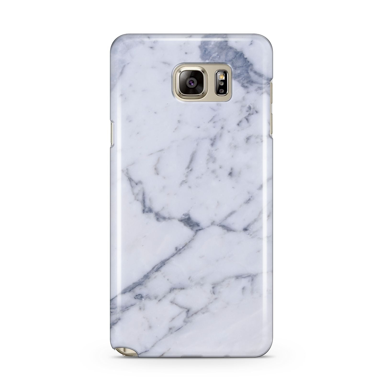 Faux Marble Grey White Samsung Galaxy Note 5 Case