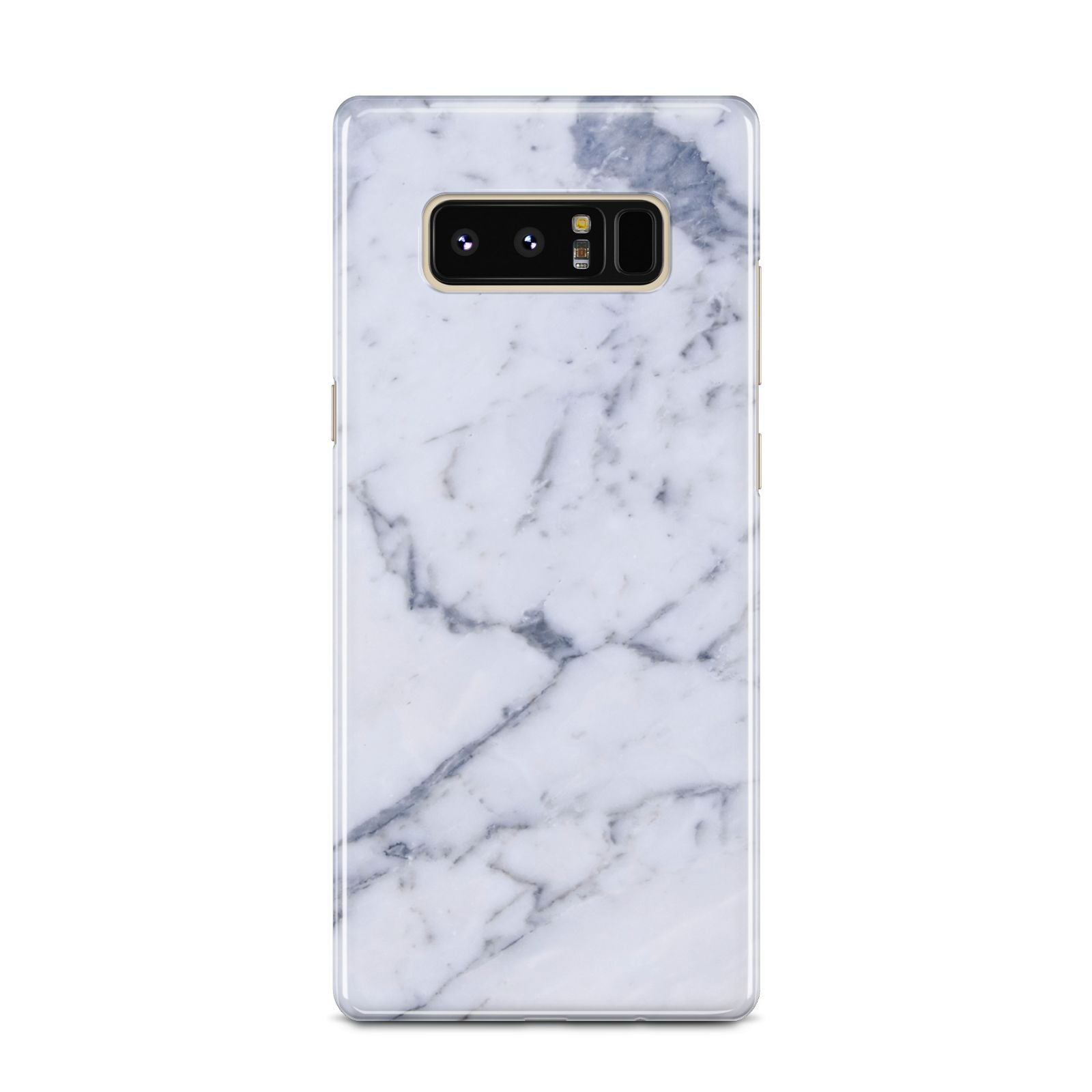 Faux Marble Grey White Samsung Galaxy Note 8 Case