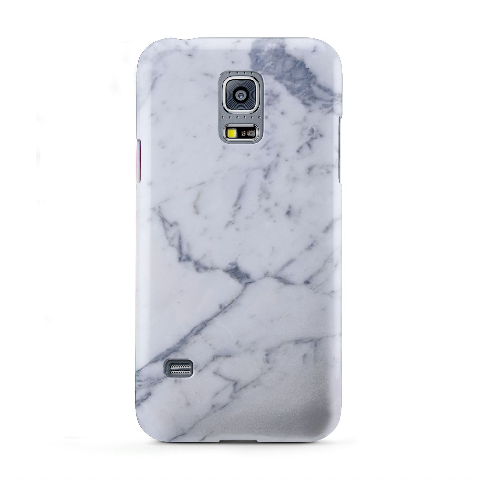 Faux Marble Grey White Samsung Galaxy S5 Mini Case