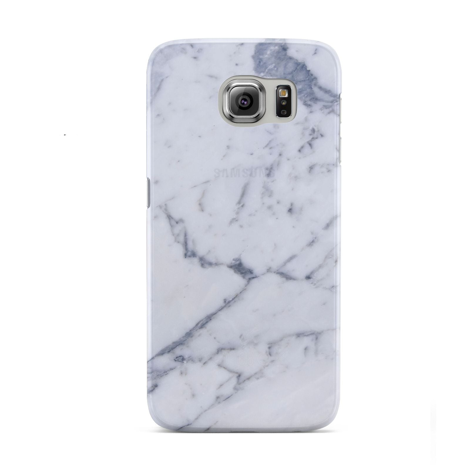 Faux Marble Grey White Samsung Galaxy S6 Case