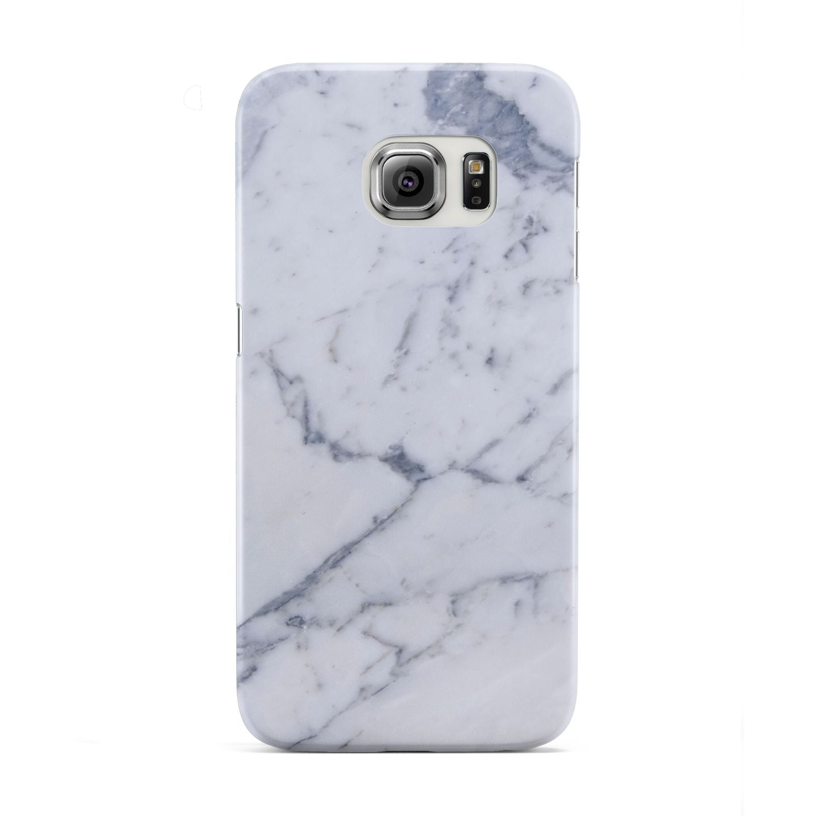 Faux Marble Grey White Samsung Galaxy S6 Edge Case