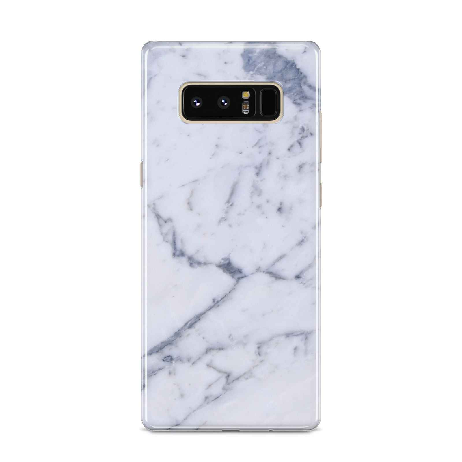 Faux Marble Grey White Samsung Galaxy S8 Case