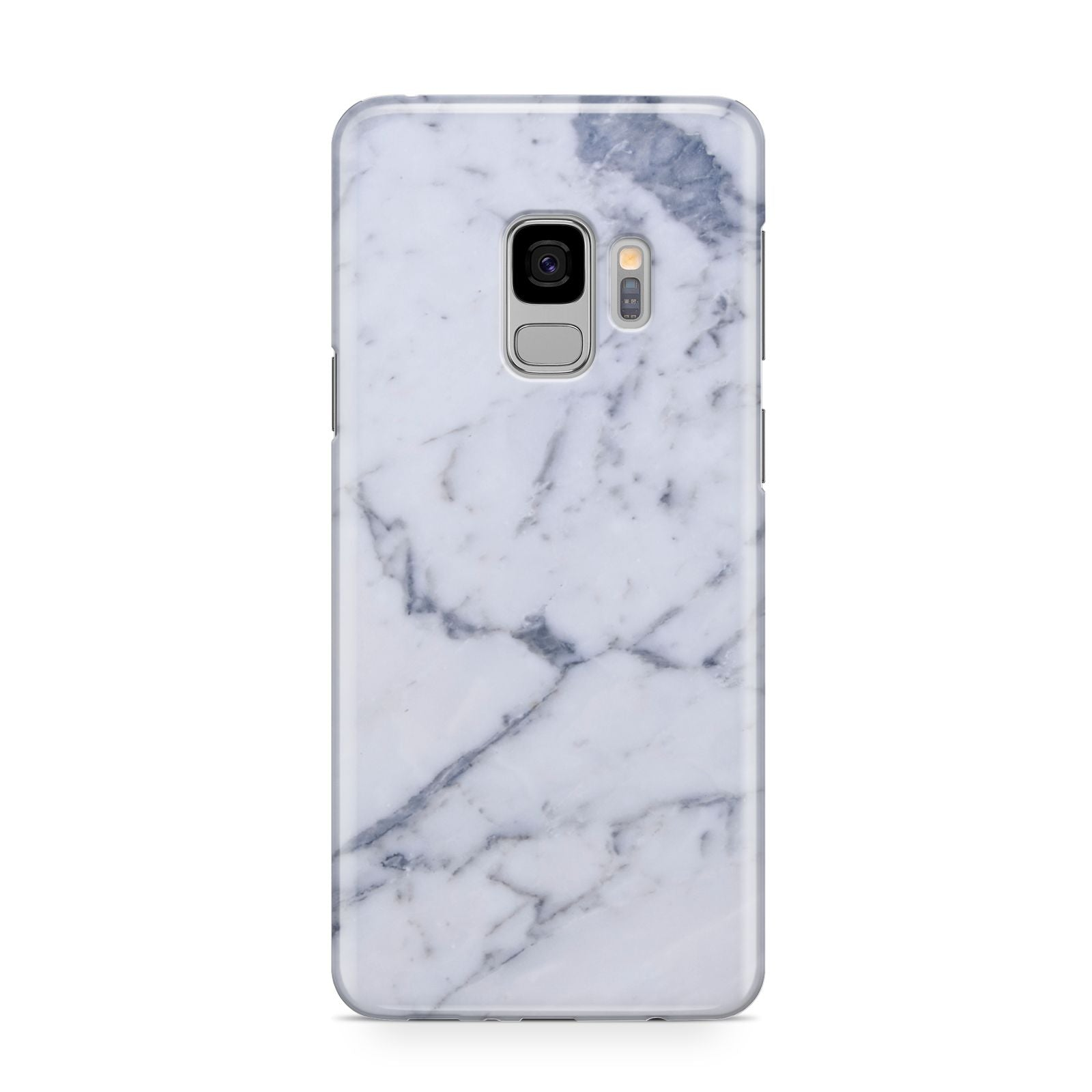 Faux Marble Grey White Samsung Galaxy S9 Case