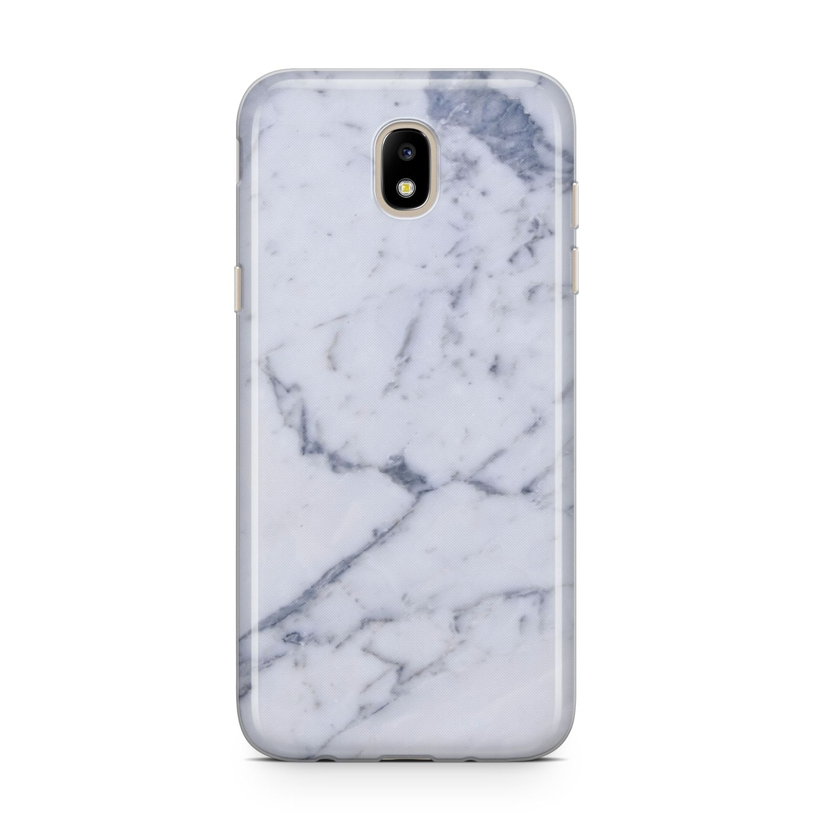 Faux Marble Grey White Samsung J5 2017 Case
