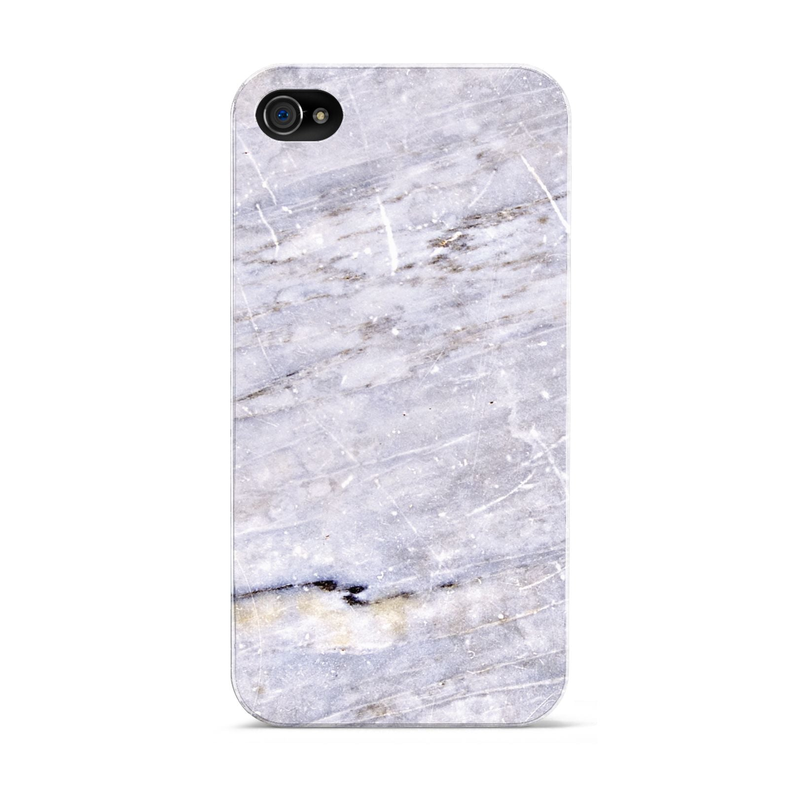 Faux Marble Mid Grey Apple iPhone 4s Case