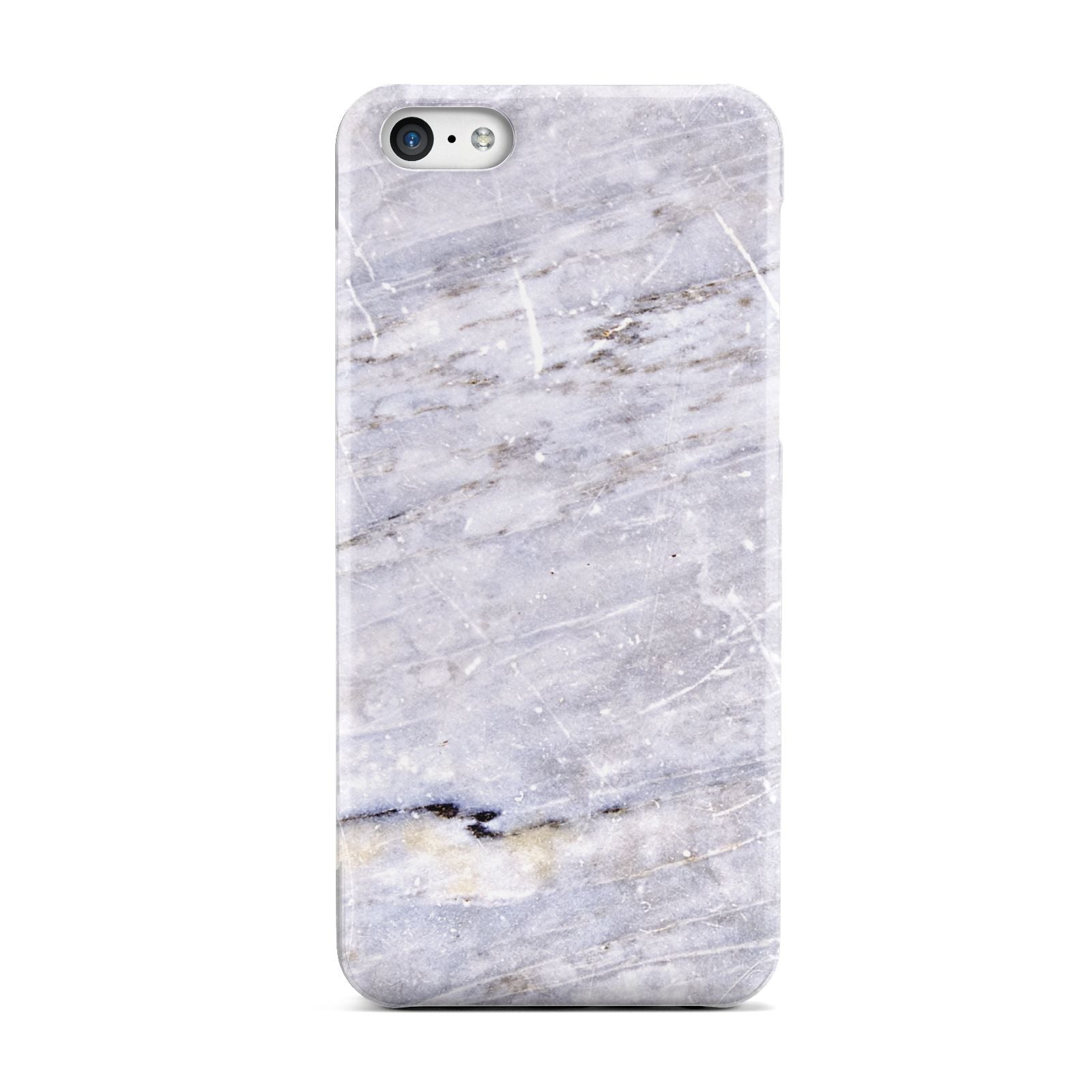 Faux Marble Mid Grey Apple iPhone 5c Case