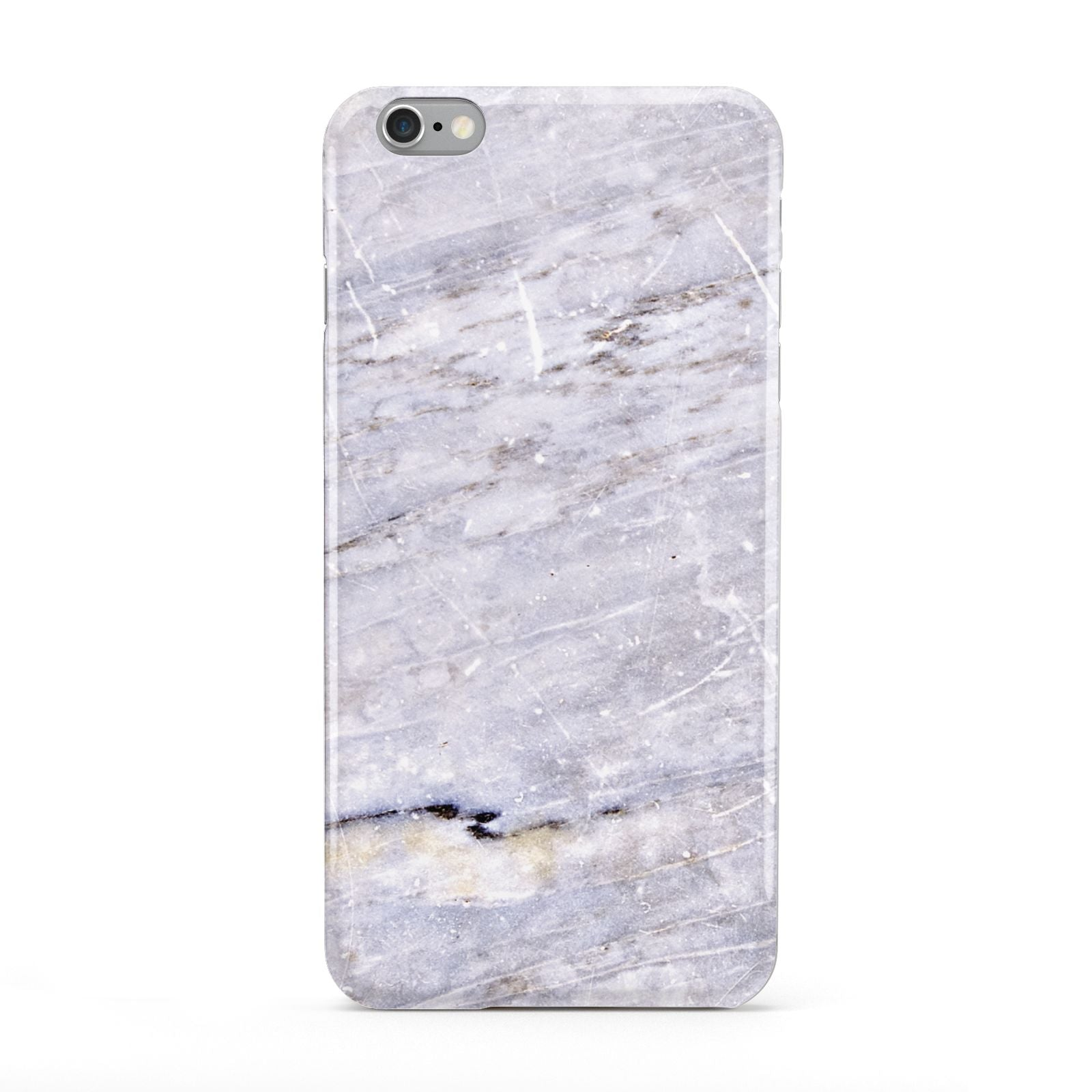 Faux Marble Mid Grey Apple iPhone 6 Plus Case