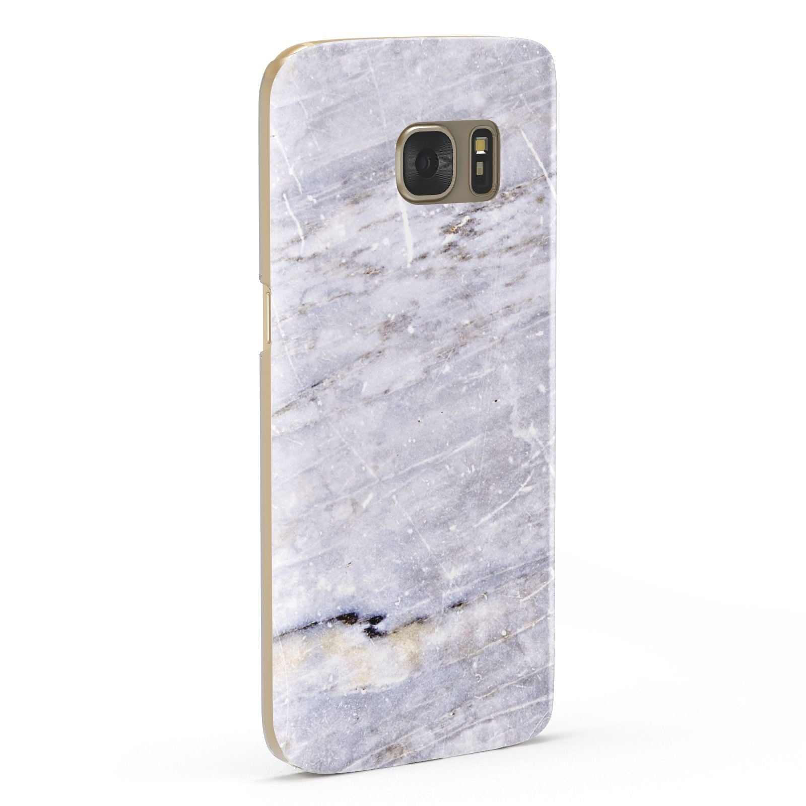 Faux Marble Mid Grey Samsung Galaxy Case Fourty Five Degrees