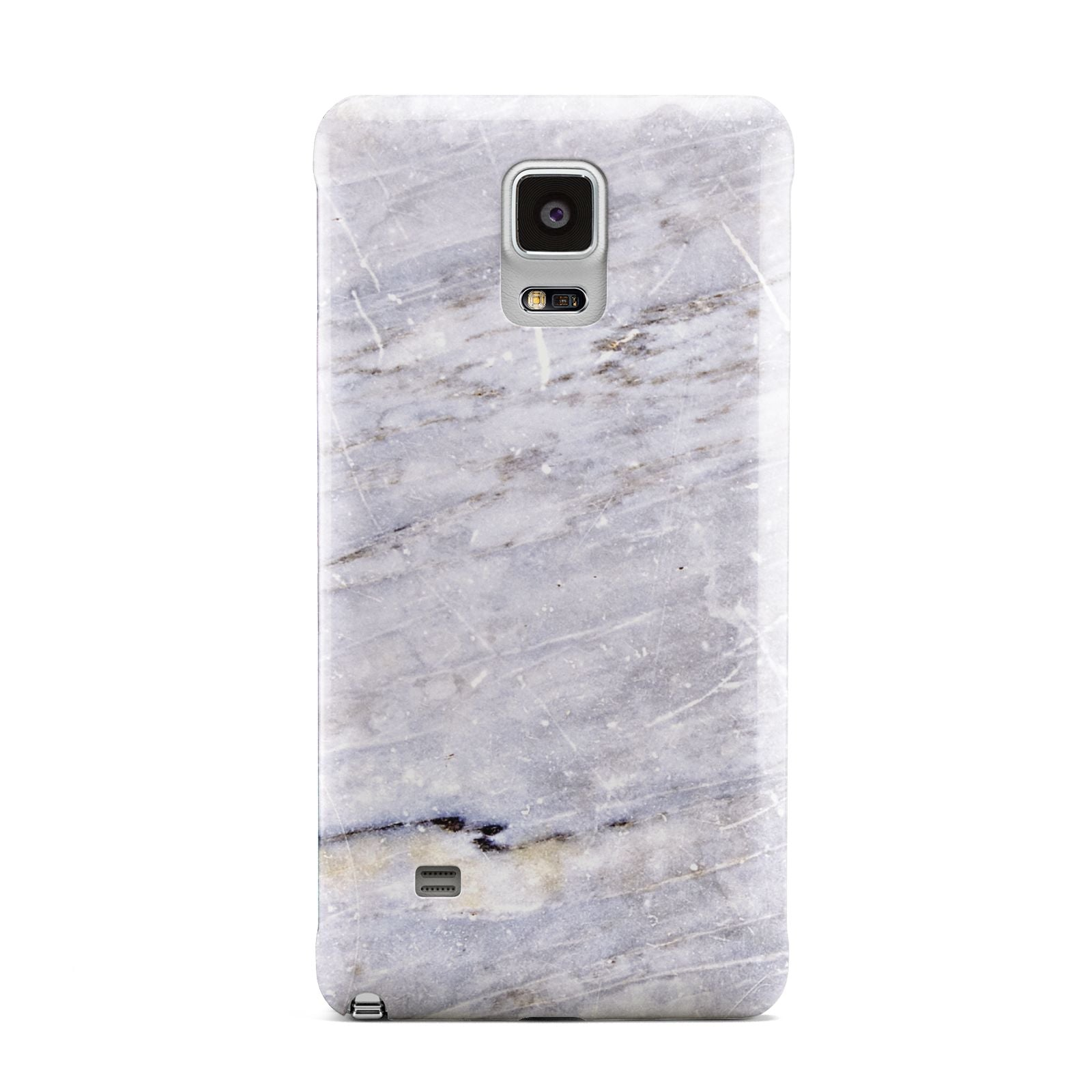 Faux Marble Mid Grey Samsung Galaxy Note 4 Case