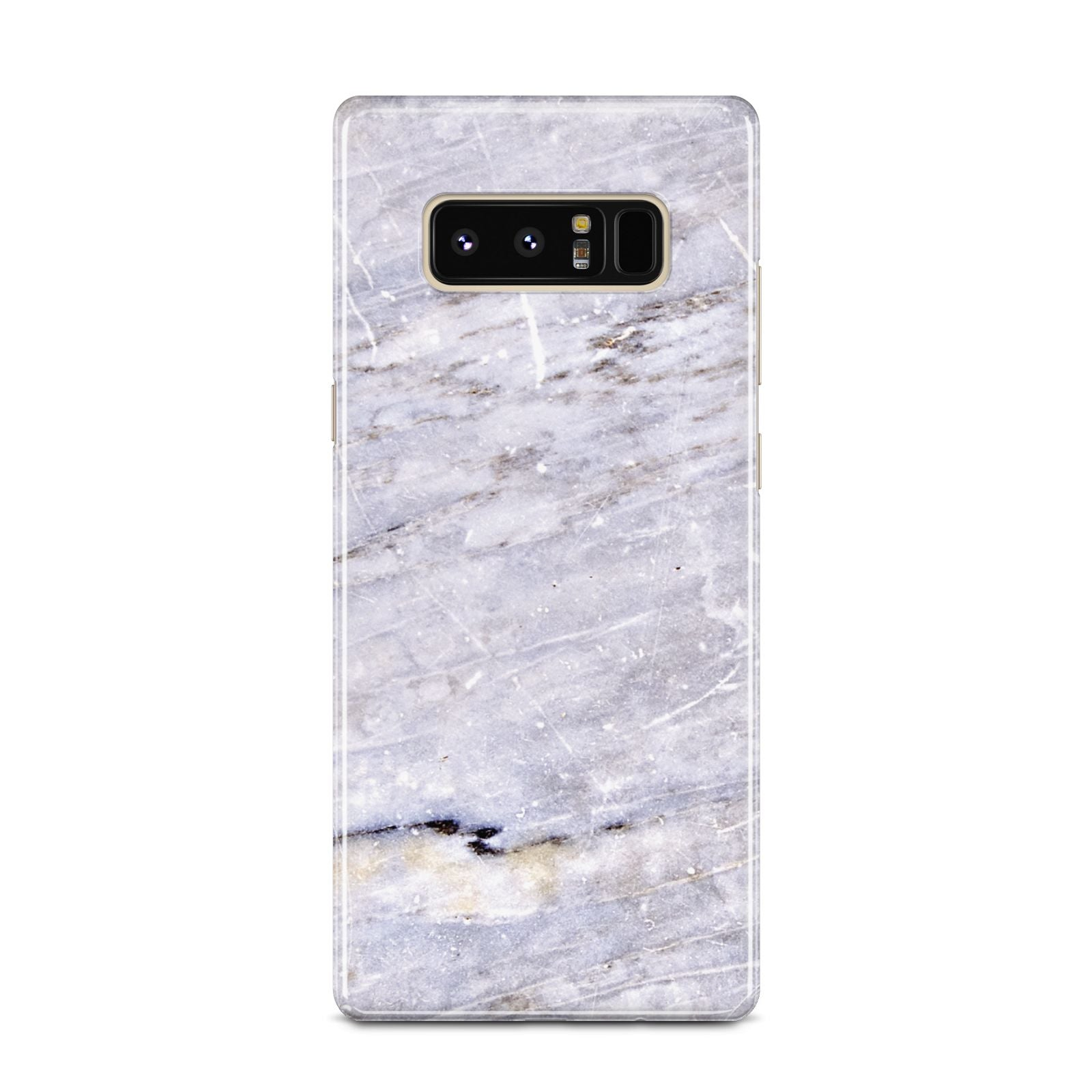 Faux Marble Mid Grey Samsung Galaxy Note 8 Case