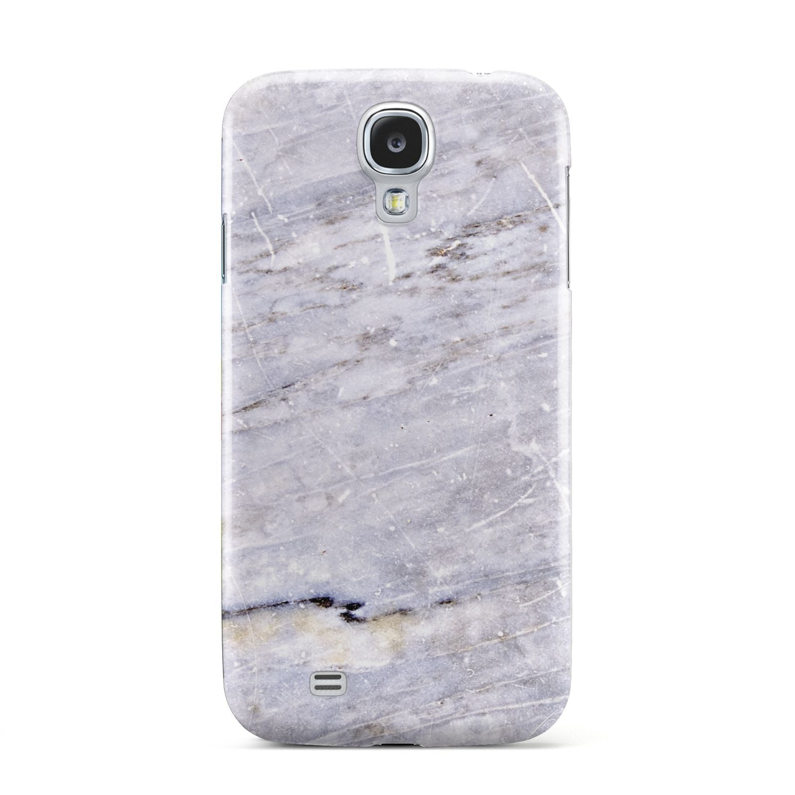 Faux Marble Mid Grey Samsung Galaxy S4 Case