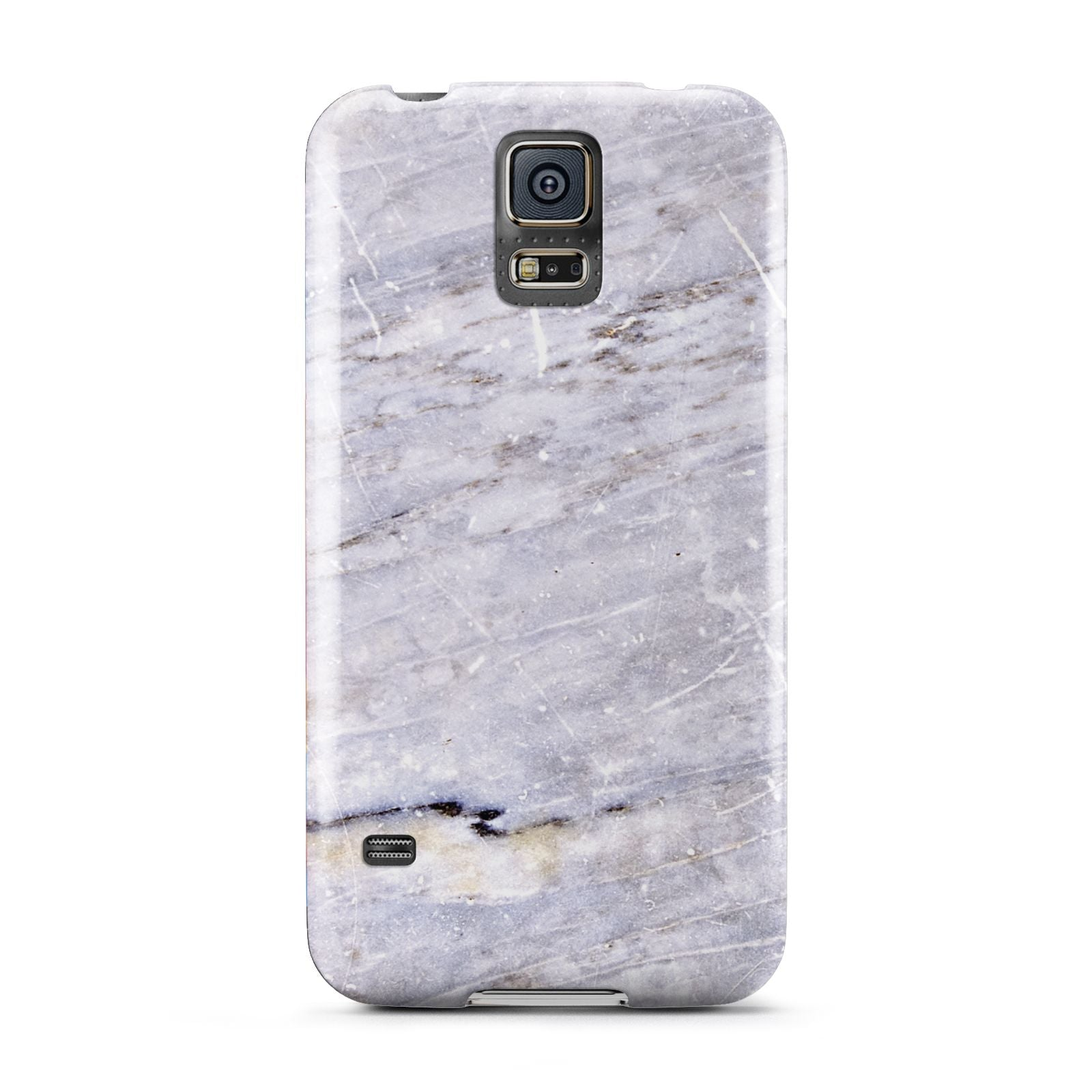 Faux Marble Mid Grey Samsung Galaxy S5 Case