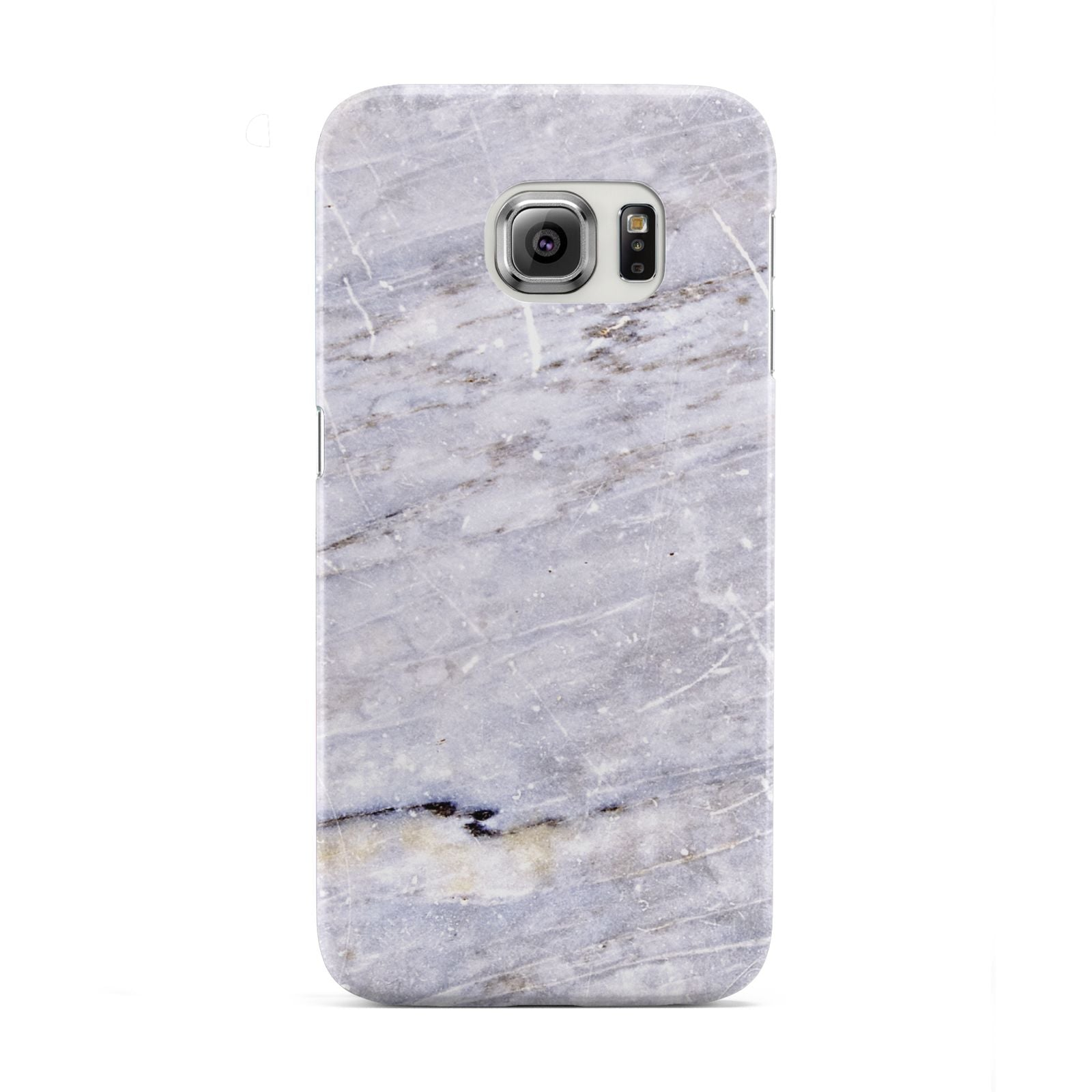 Faux Marble Mid Grey Samsung Galaxy S6 Edge Case