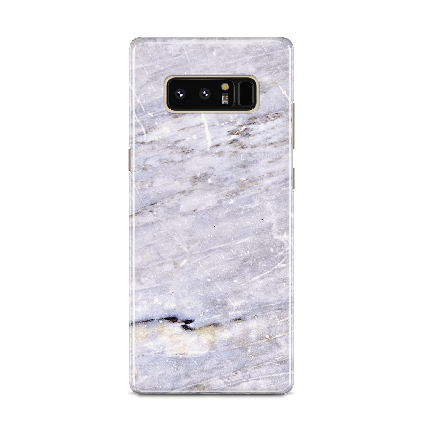 Faux Marble Mid Grey Samsung Galaxy S8 Case
