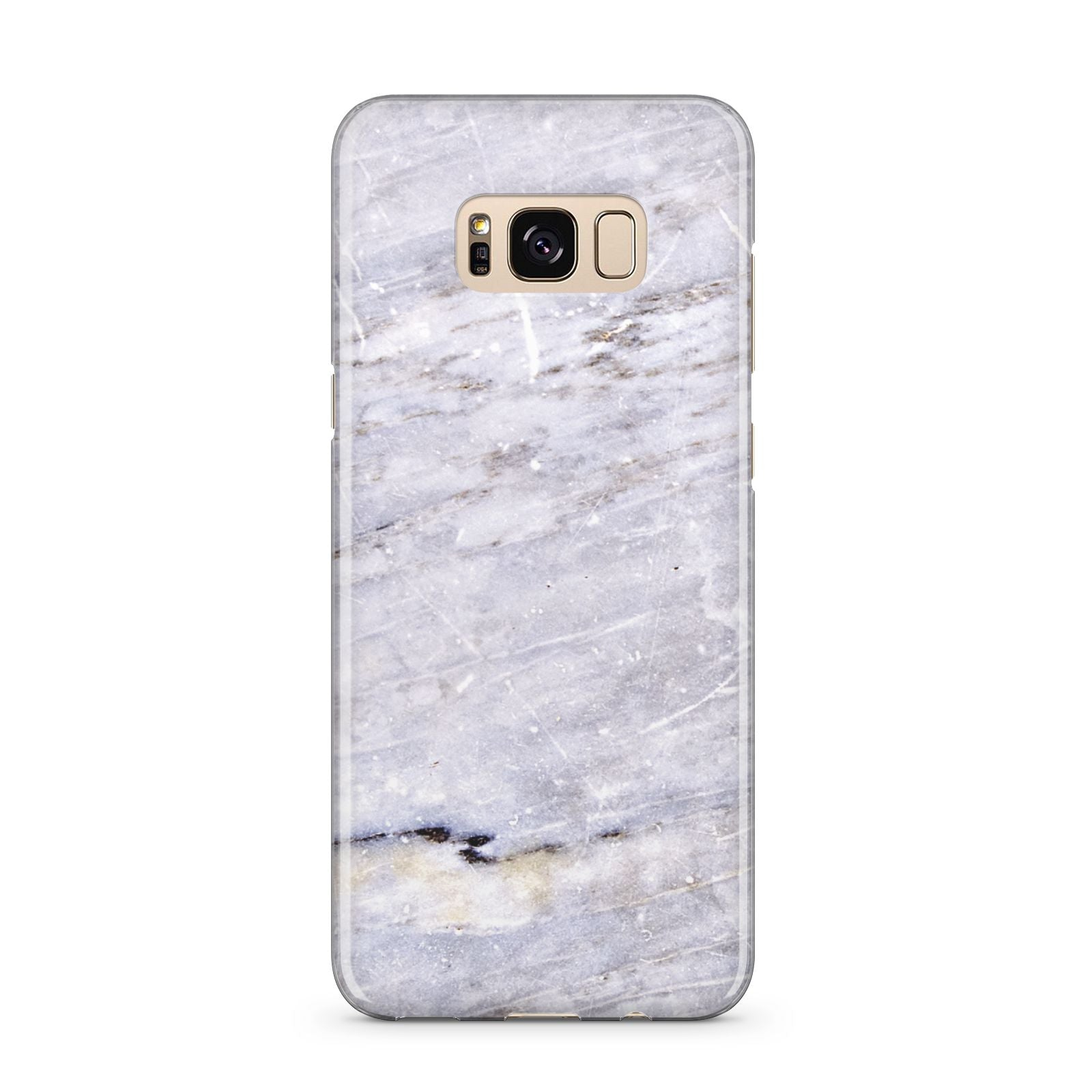 Faux Marble Mid Grey Samsung Galaxy S8 Plus Case