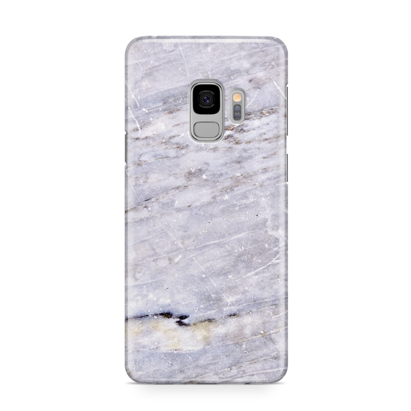 Faux Marble Mid Grey Samsung Galaxy S9 Case