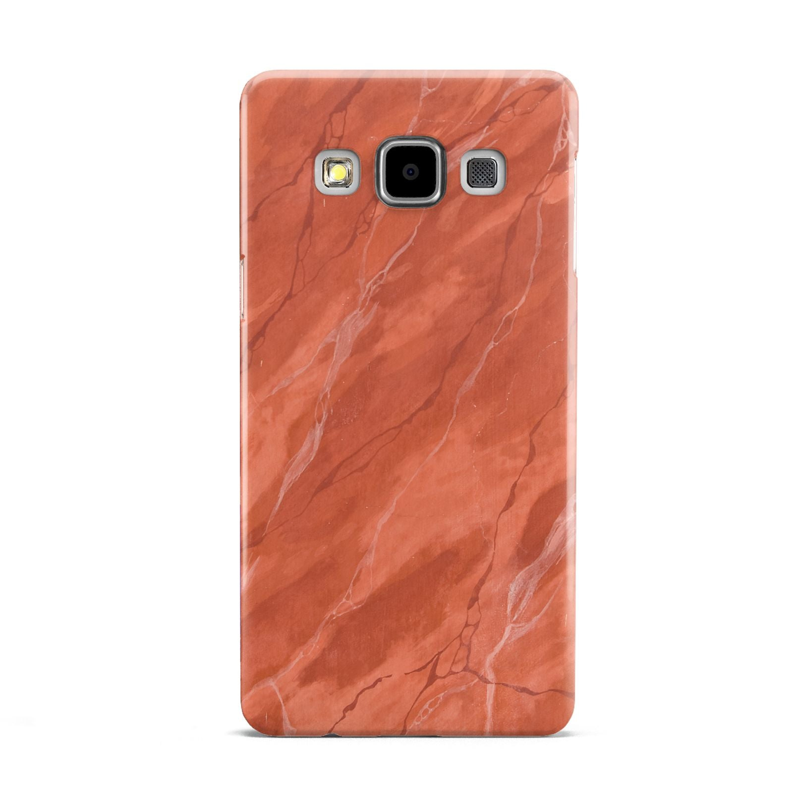 Faux Marble Red Orange Samsung Galaxy A5 Case