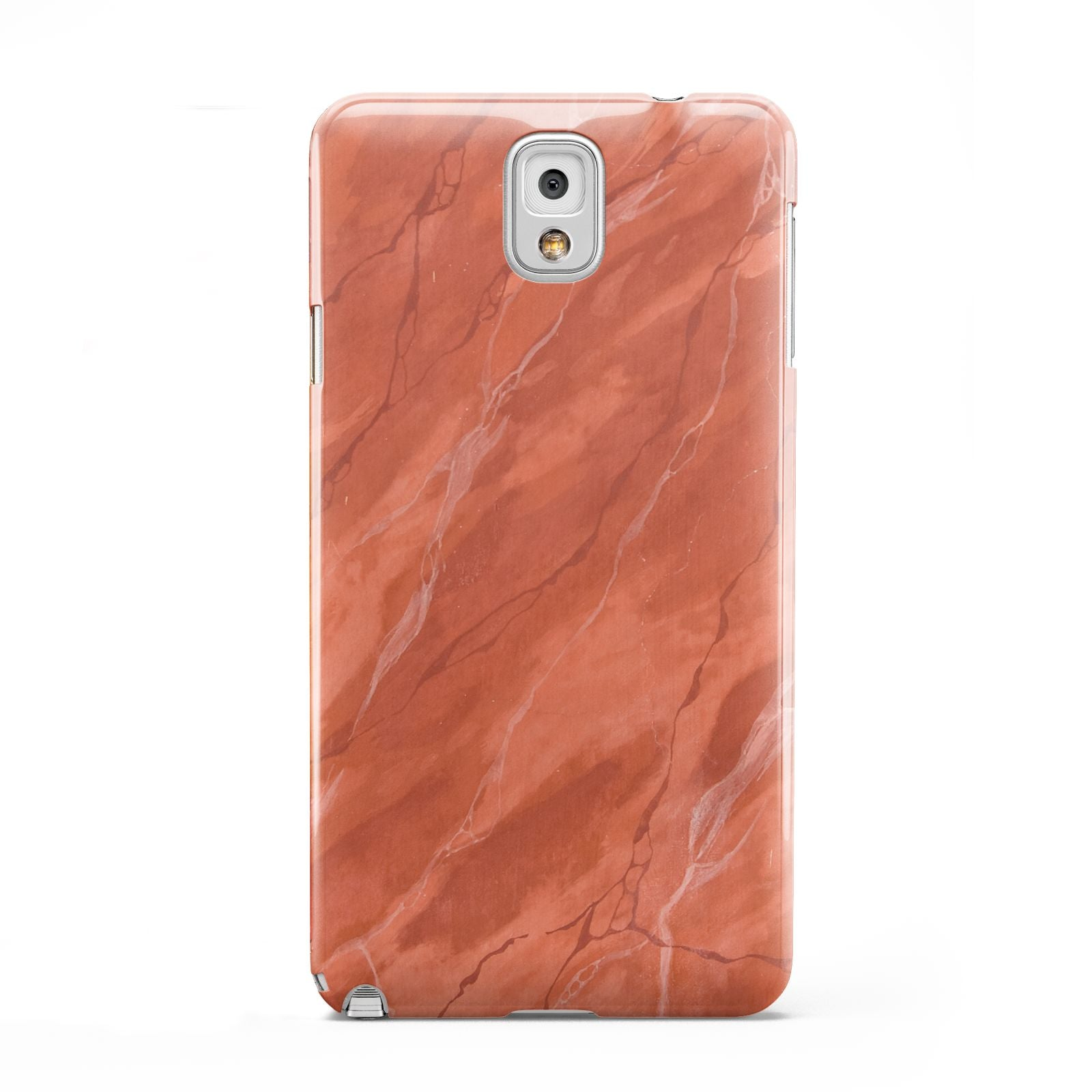 Faux Marble Red Orange Samsung Galaxy Note 3 Case