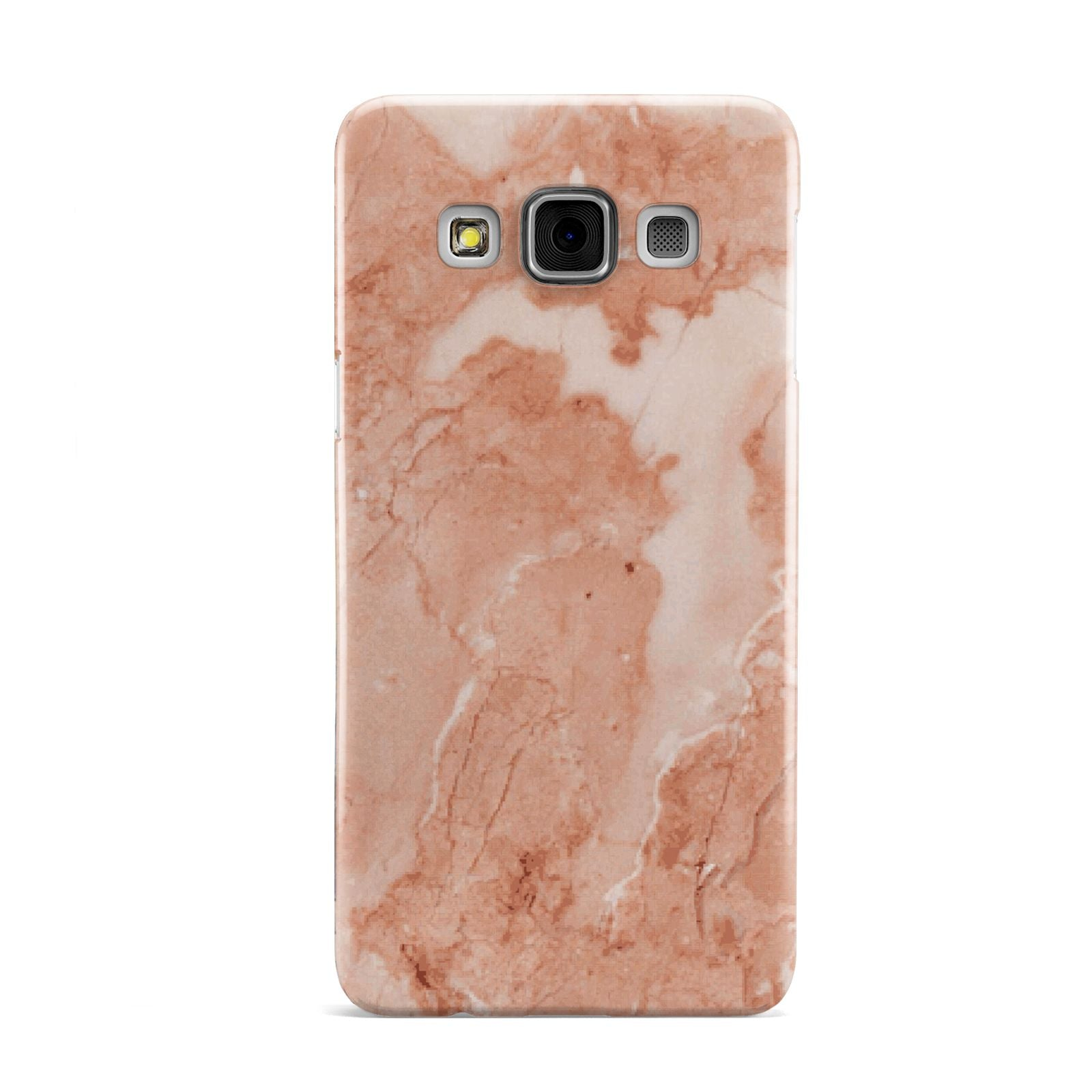 Faux Marble Red Samsung Galaxy A3 Case