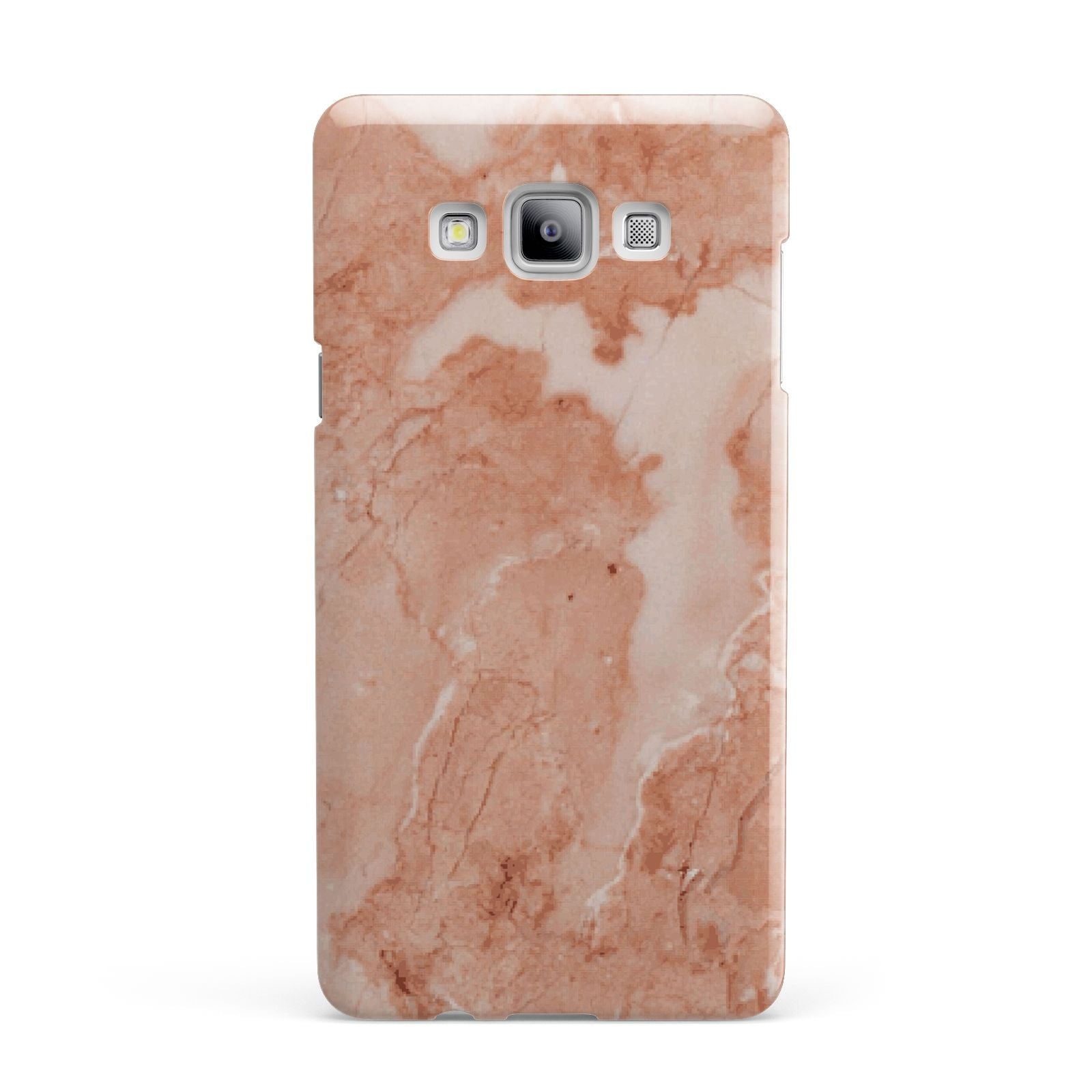 Faux Marble Red Samsung Galaxy A7 2015 Case