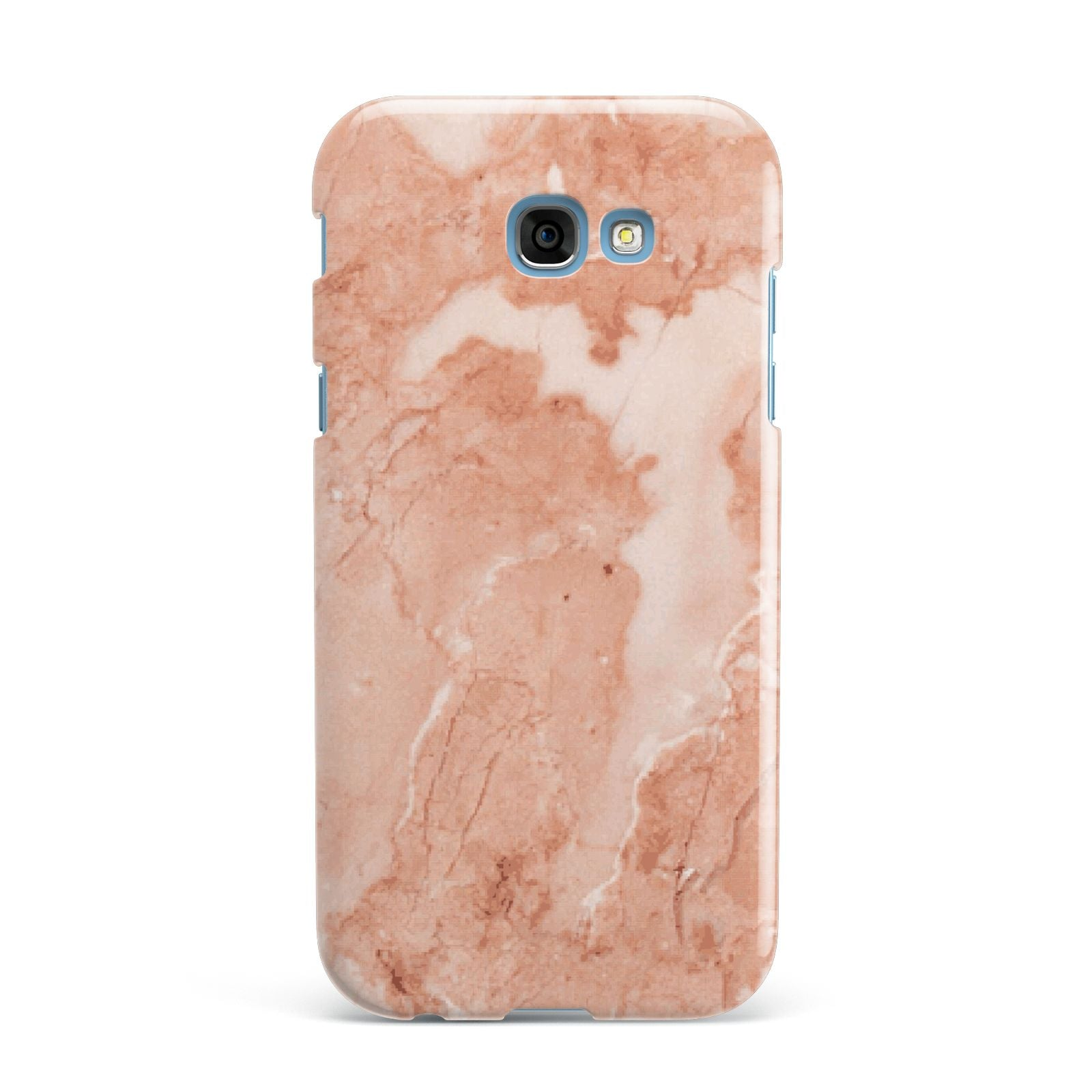 Faux Marble Red Samsung Galaxy A7 2017 Case