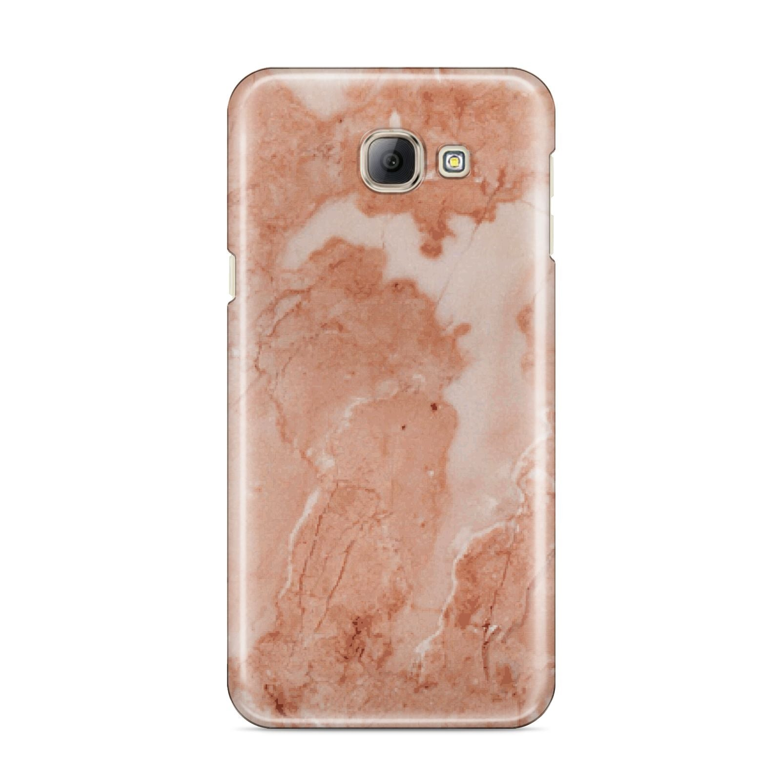 Faux Marble Red Samsung Galaxy A8 2016 Case