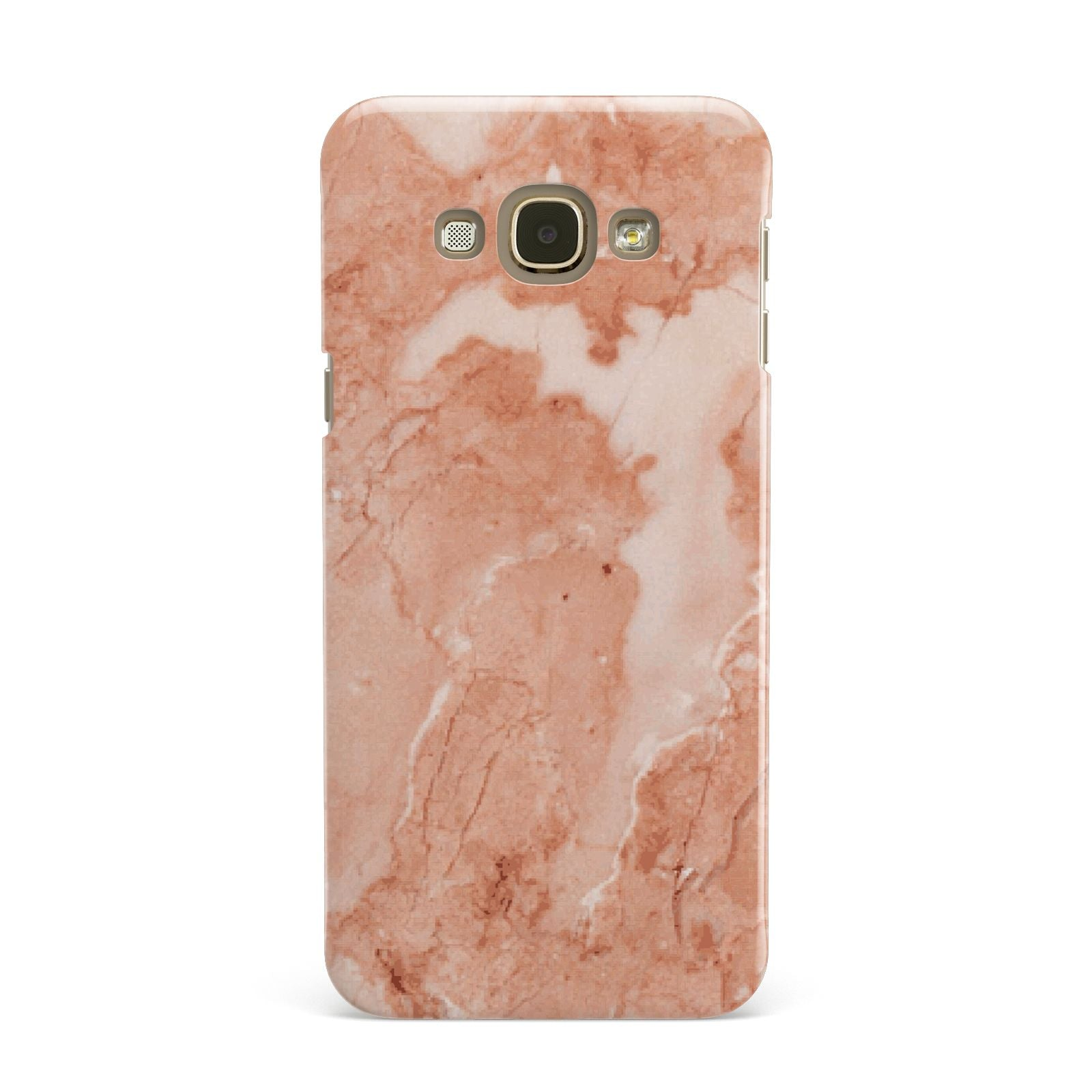Faux Marble Red Samsung Galaxy A8 Case