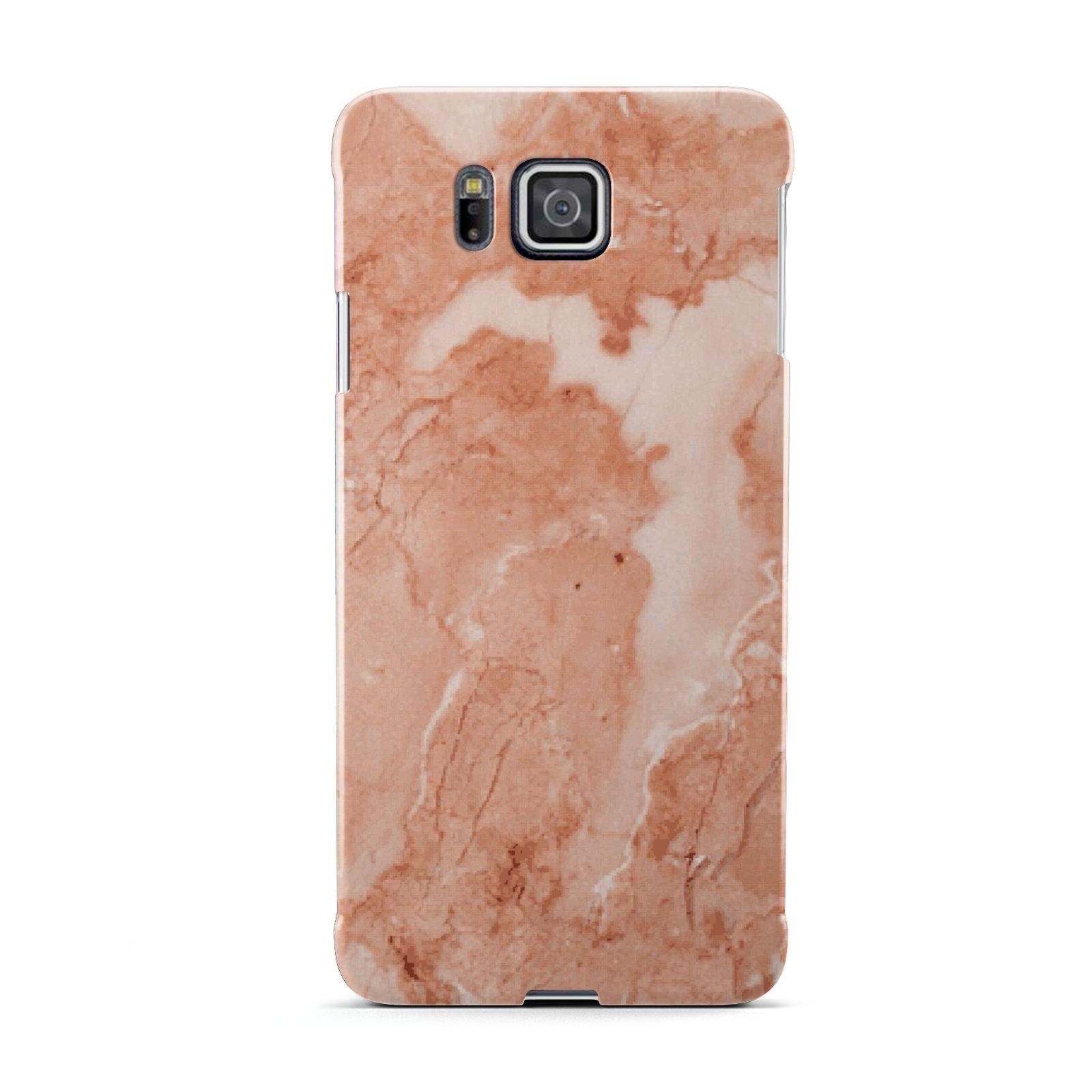 Faux Marble Red Samsung Galaxy Alpha Case