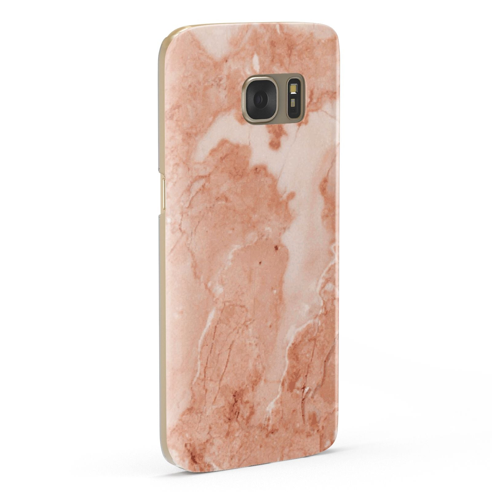 Faux Marble Red Samsung Galaxy Case Fourty Five Degrees